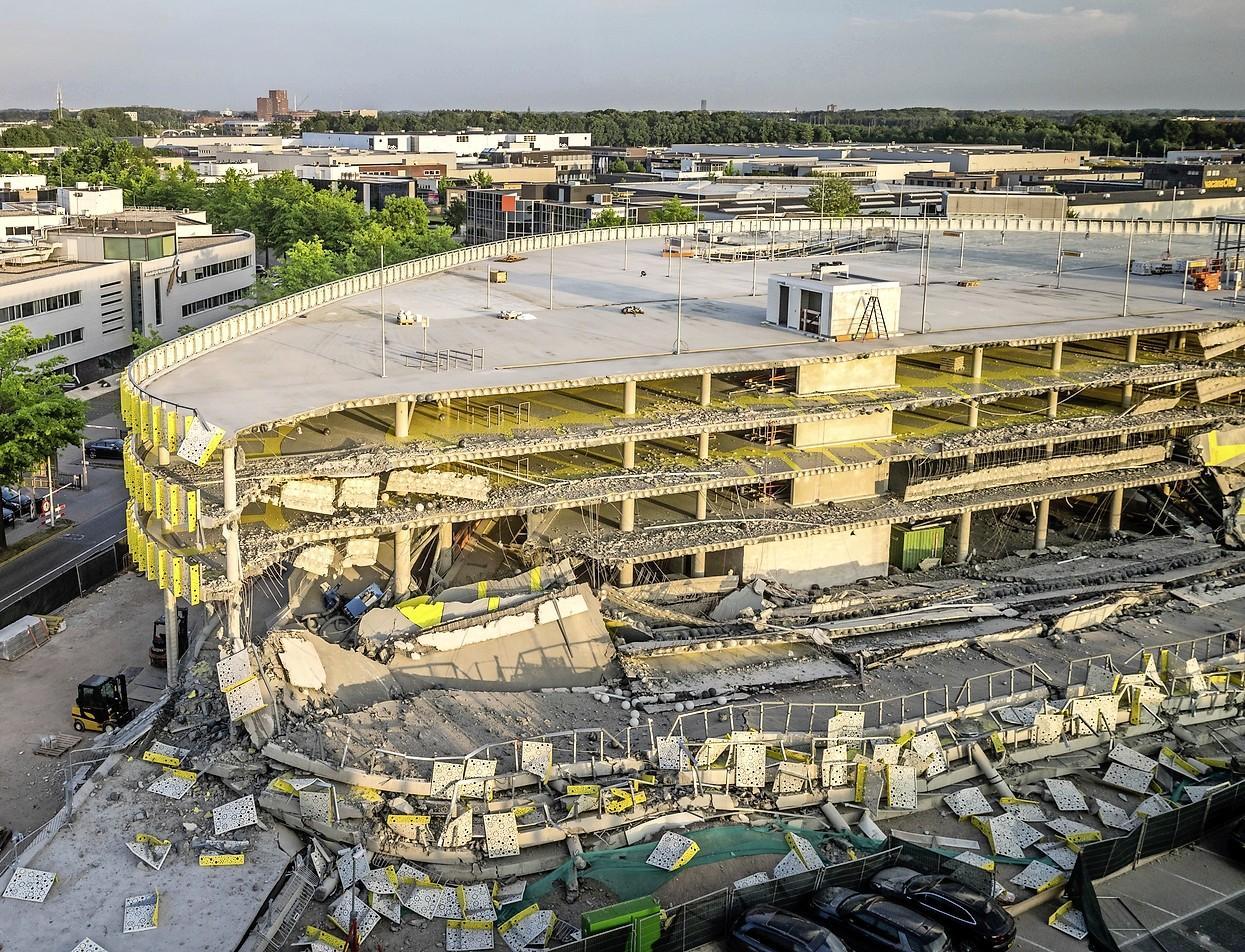 Rechter wijst schadeclaim van 10 miljoen van Leids bedrijf af om parkeergarage Eindhoven Airport