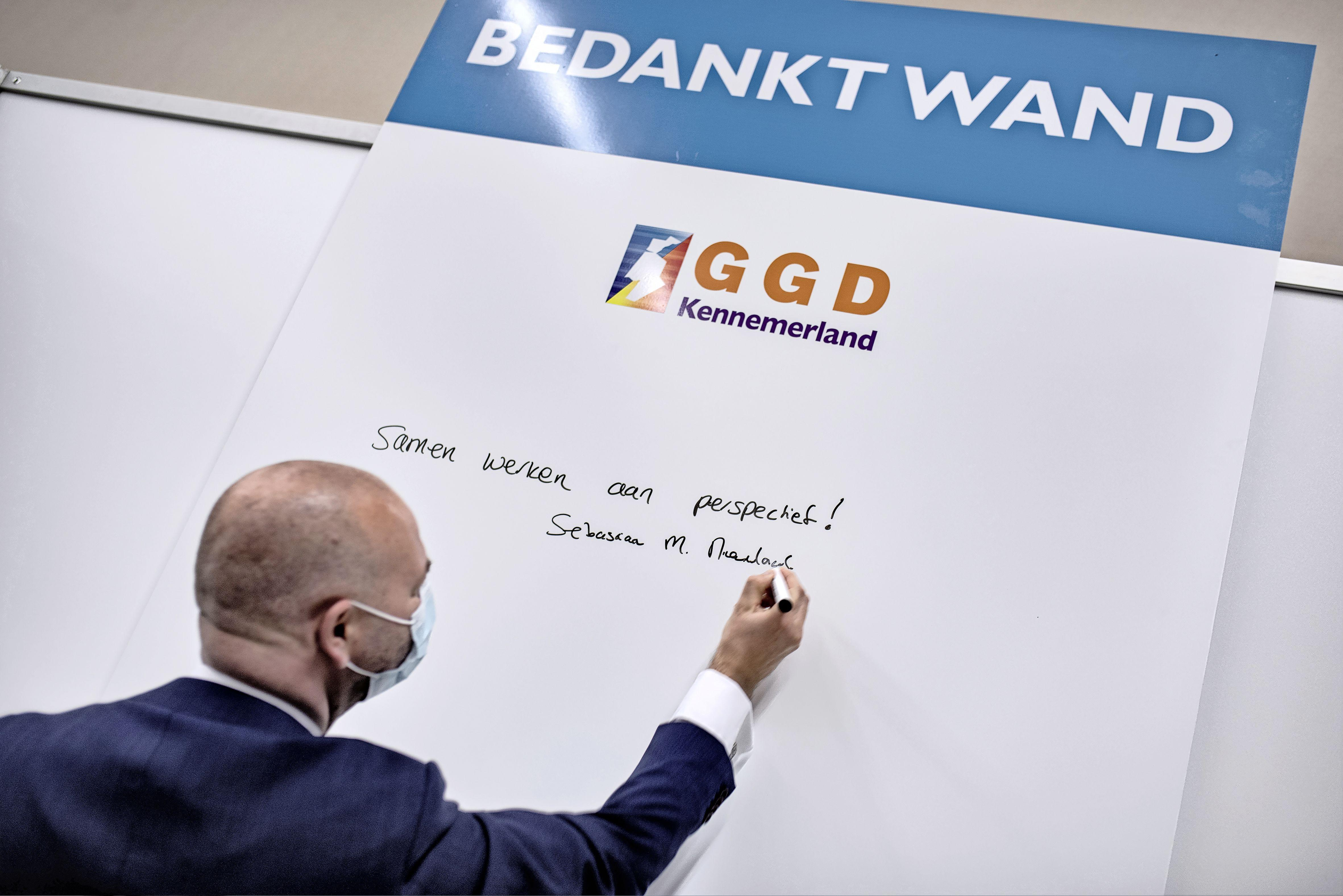 GGD vaccineert in sporthal zonder de vereiste vergunning