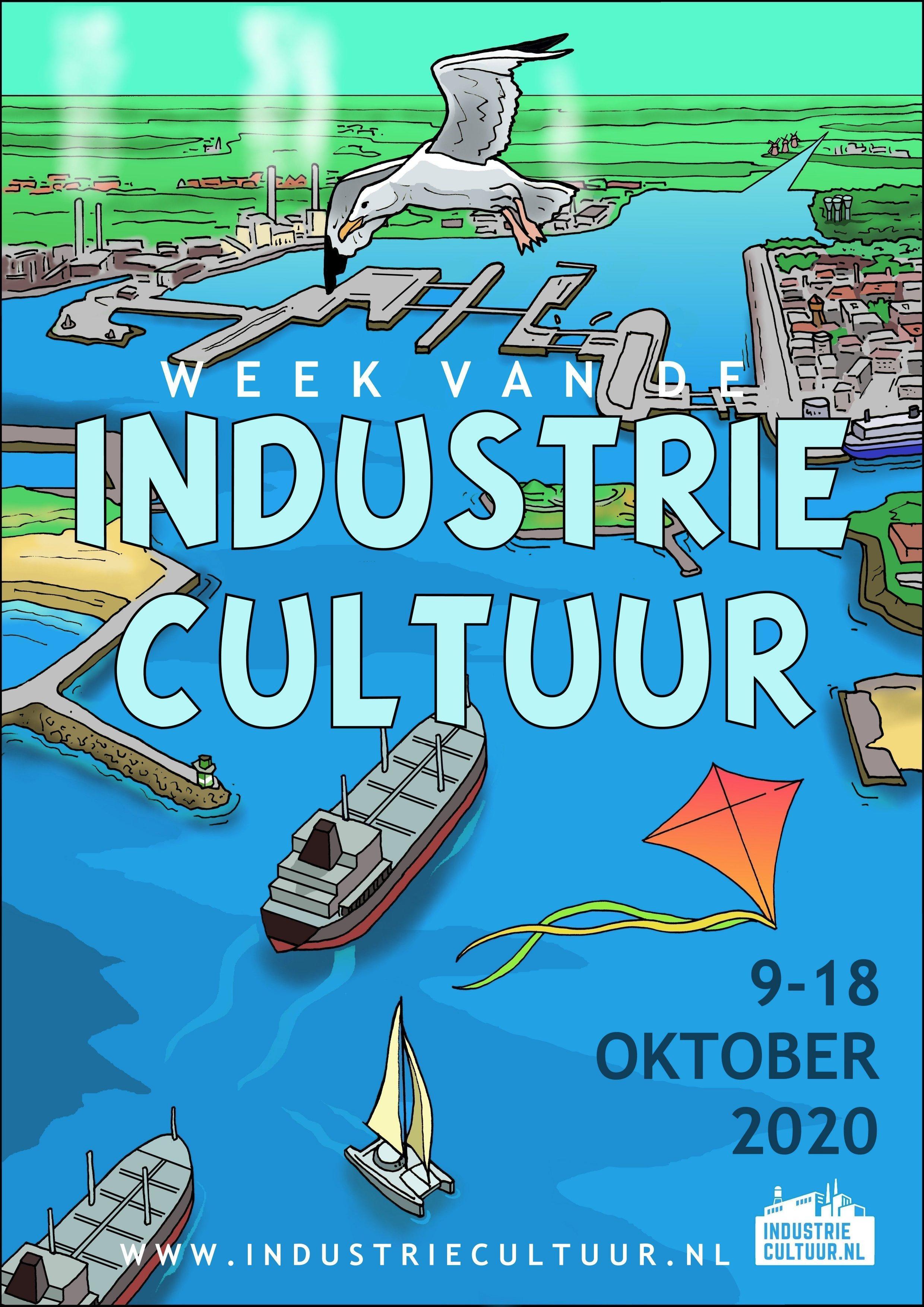 Week van de Industriecultuur gaat ondanks het coronavirus gewoon door: dit jaar staat in teken van creatieve bedrijvigheid en de nieuwe maakindustrie