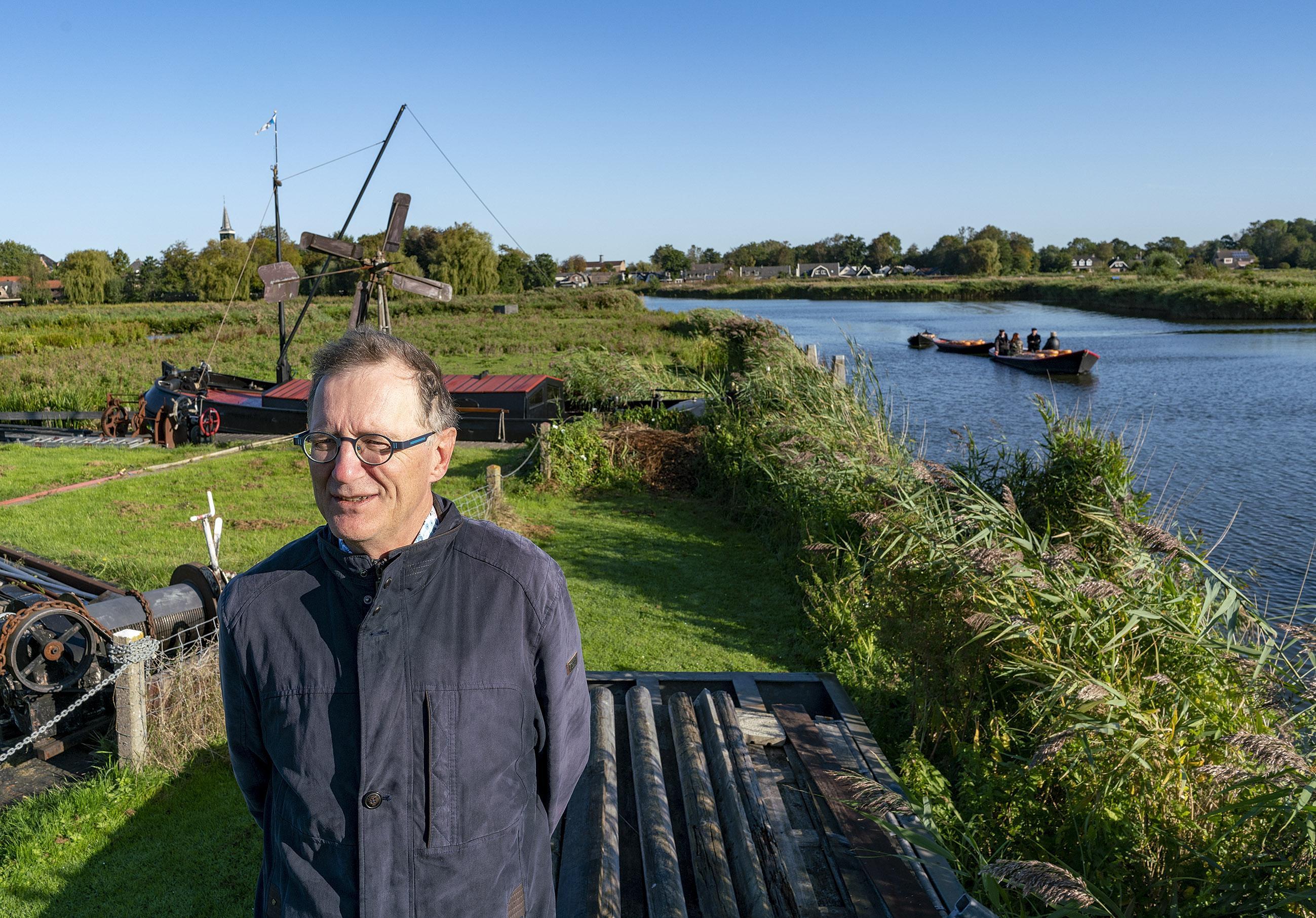 Wie stopt de rivierkreeft? De Oosterdel dreigt zo maar in het water weg te zakken, waarschuwt Alkmaarse bioloog