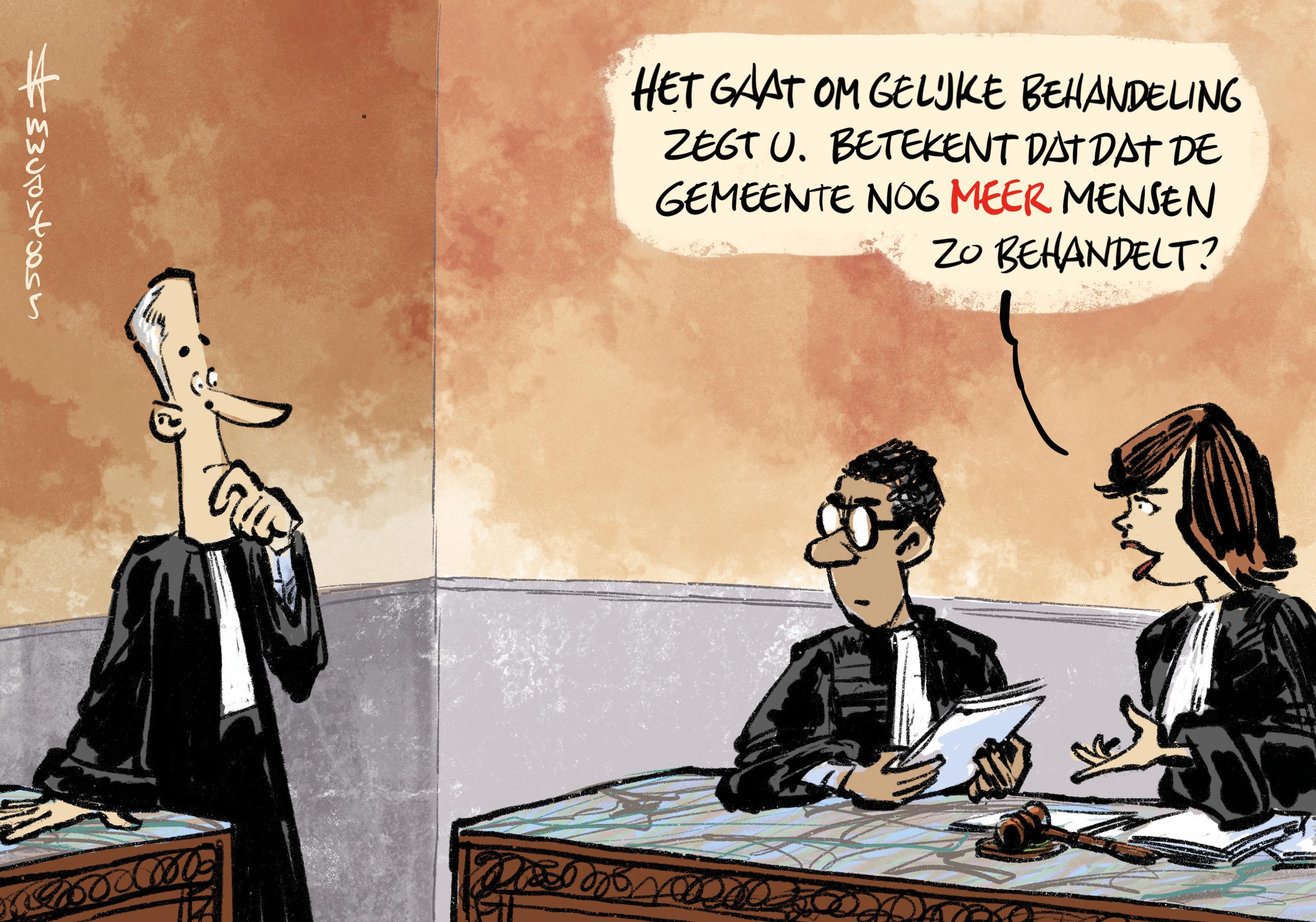 Gemeente Heemstede accepteert vonnis kantonrechter over parkeerboete van 67 euro niet