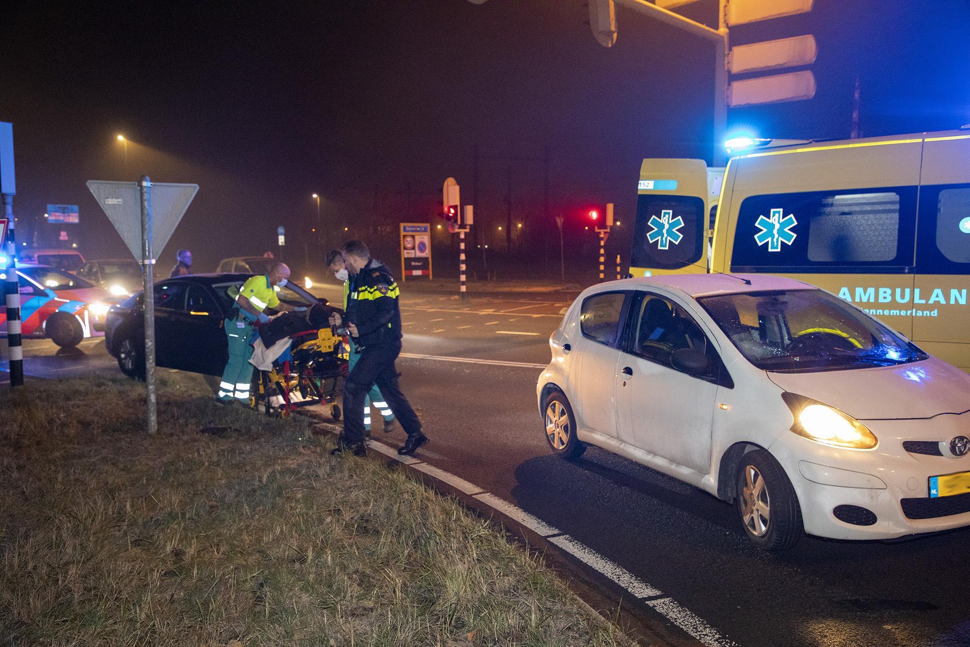 Fietser raakt gewond na aanrijding met auto in Velsen-Noord