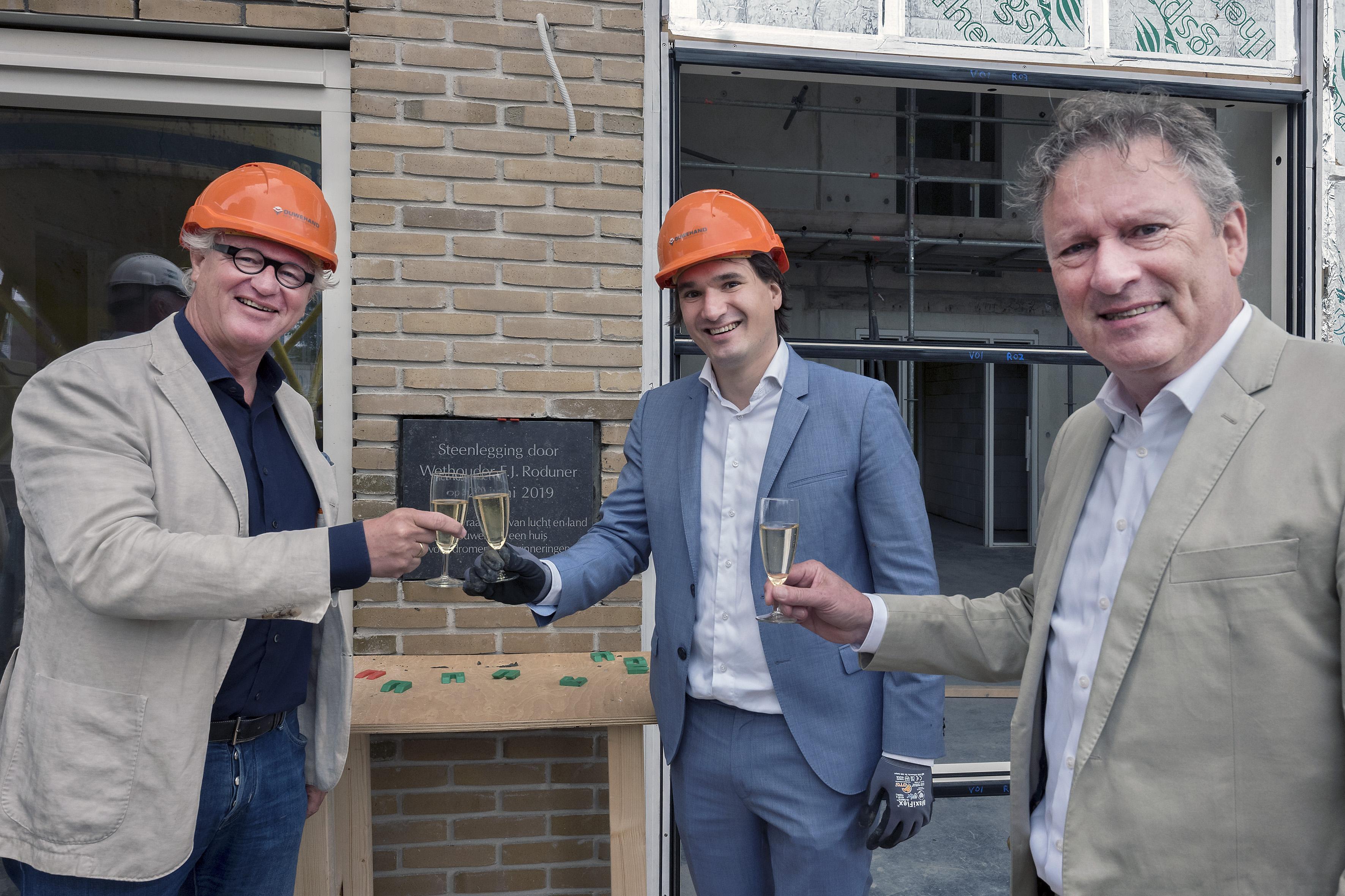 Wethouder Floor Roduner: 'Er komt geen Berlijnse Muur in Haarlem'