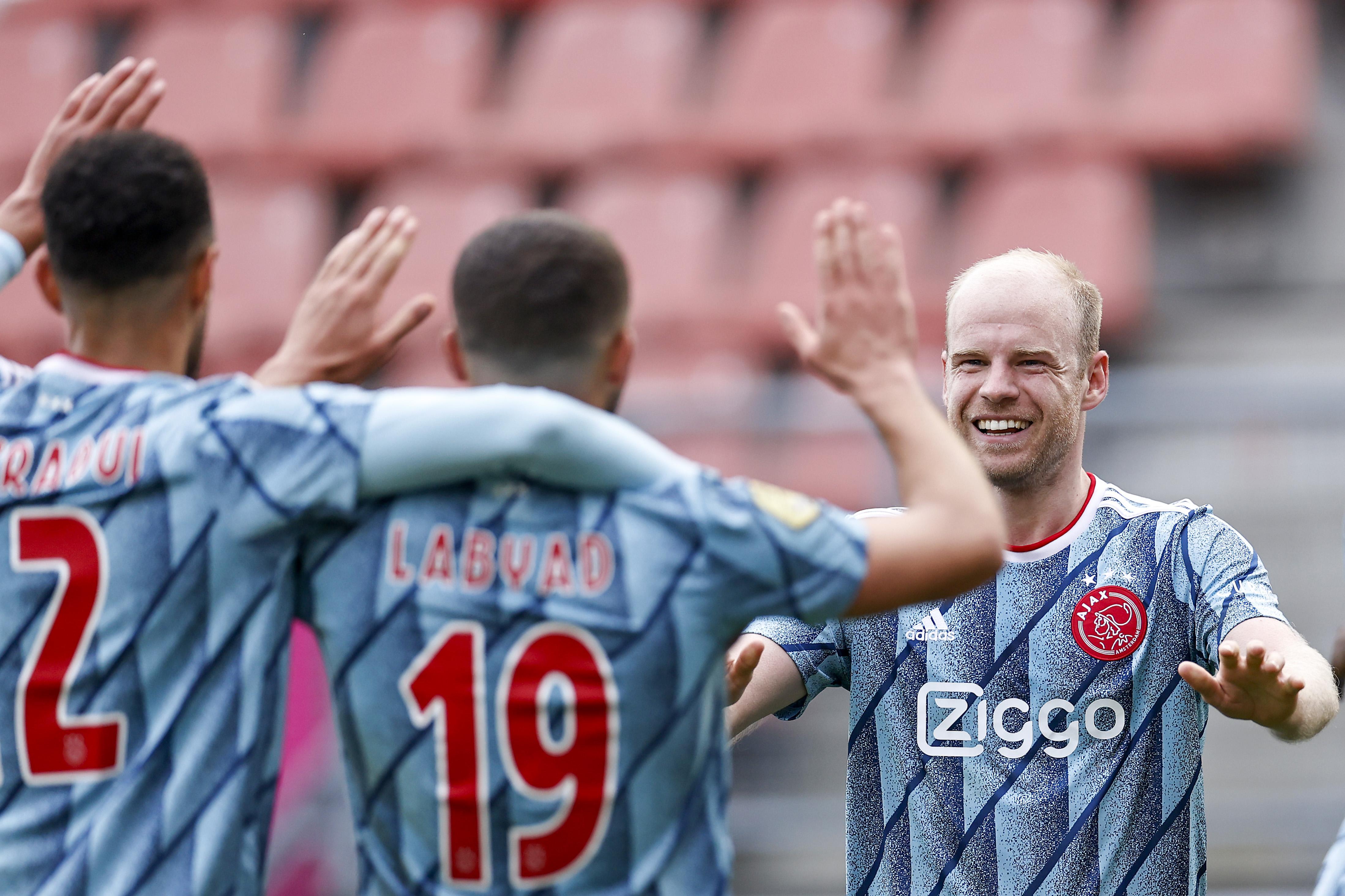 Davy Klaassen is weer klasse apart bij Ajax in wedstrijd tegen Utrecht