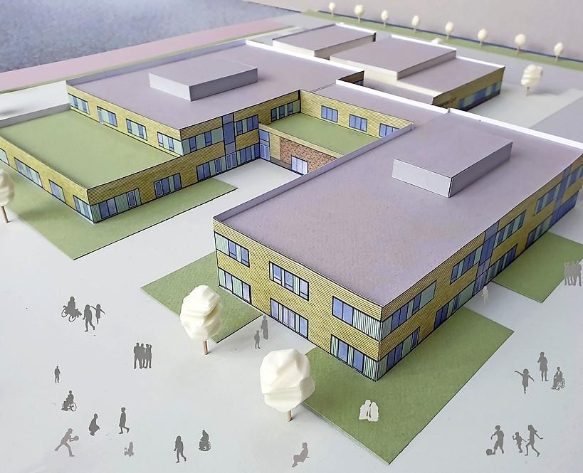 Oplevering Expertisecentrum Heerhugowaard gepland voor schooljaar 2022-2023, raad akkoord