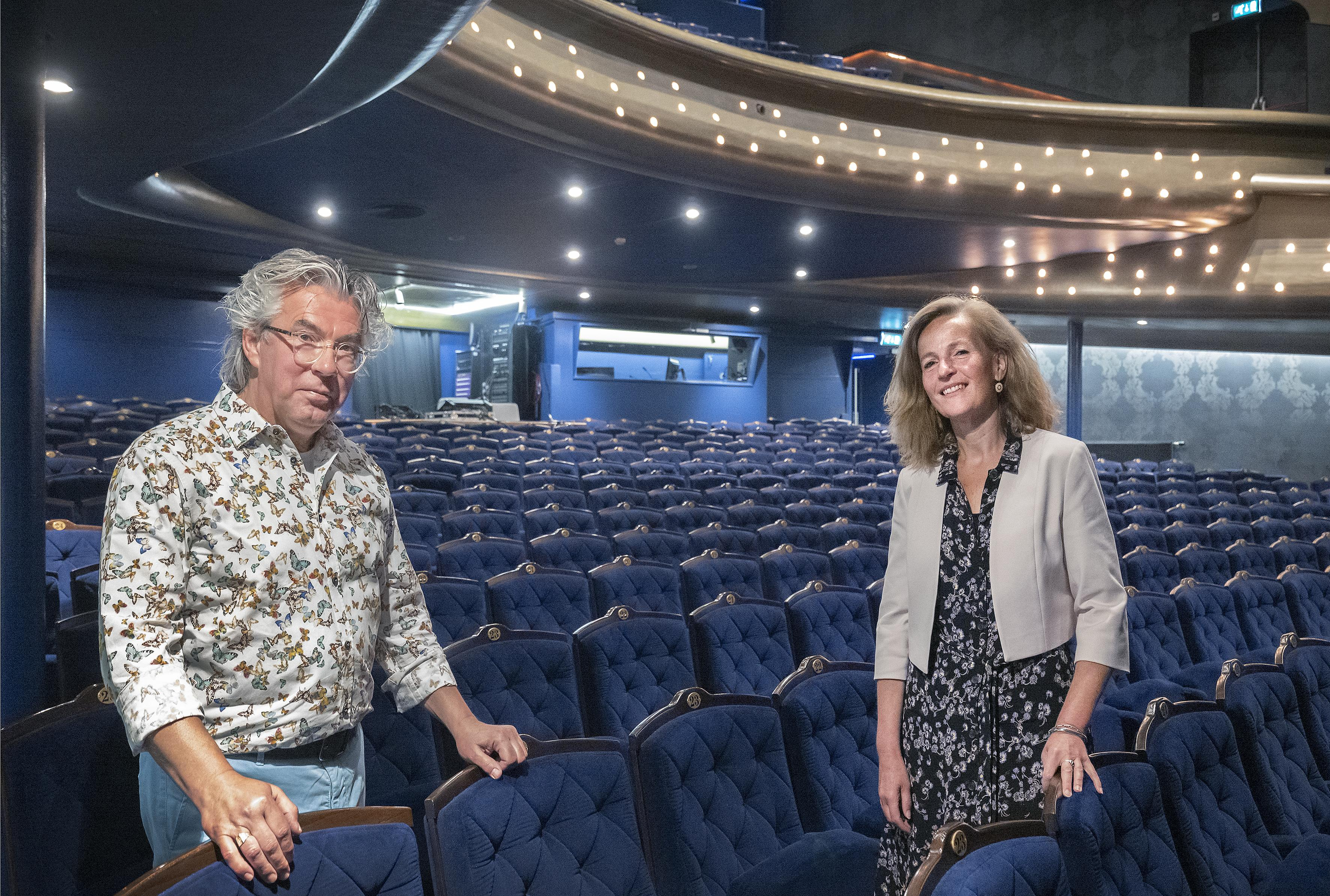 'Velsen fietst naar de film' in de stadsschouwburg: 'Dit is het moment om film terug te brengen in het theater waar het ooit begon' [video]
