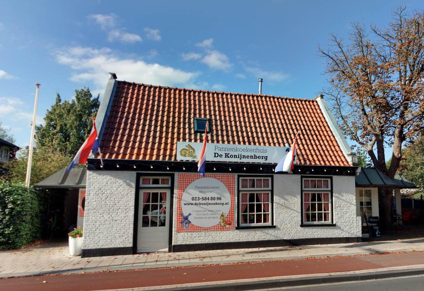Pannenkoekenhuis De Konijnenberg in Heemstede verrast familie van Gea Weijers