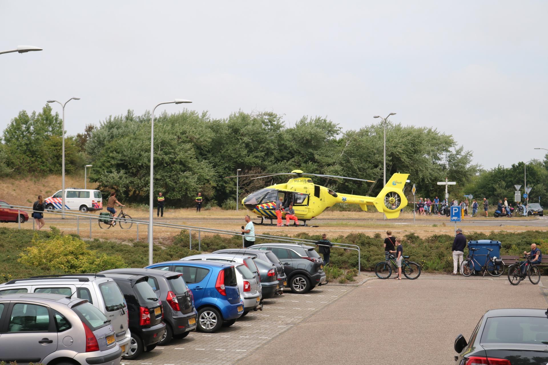 Ruiter gereanimeerd na val van paard in Katwijk