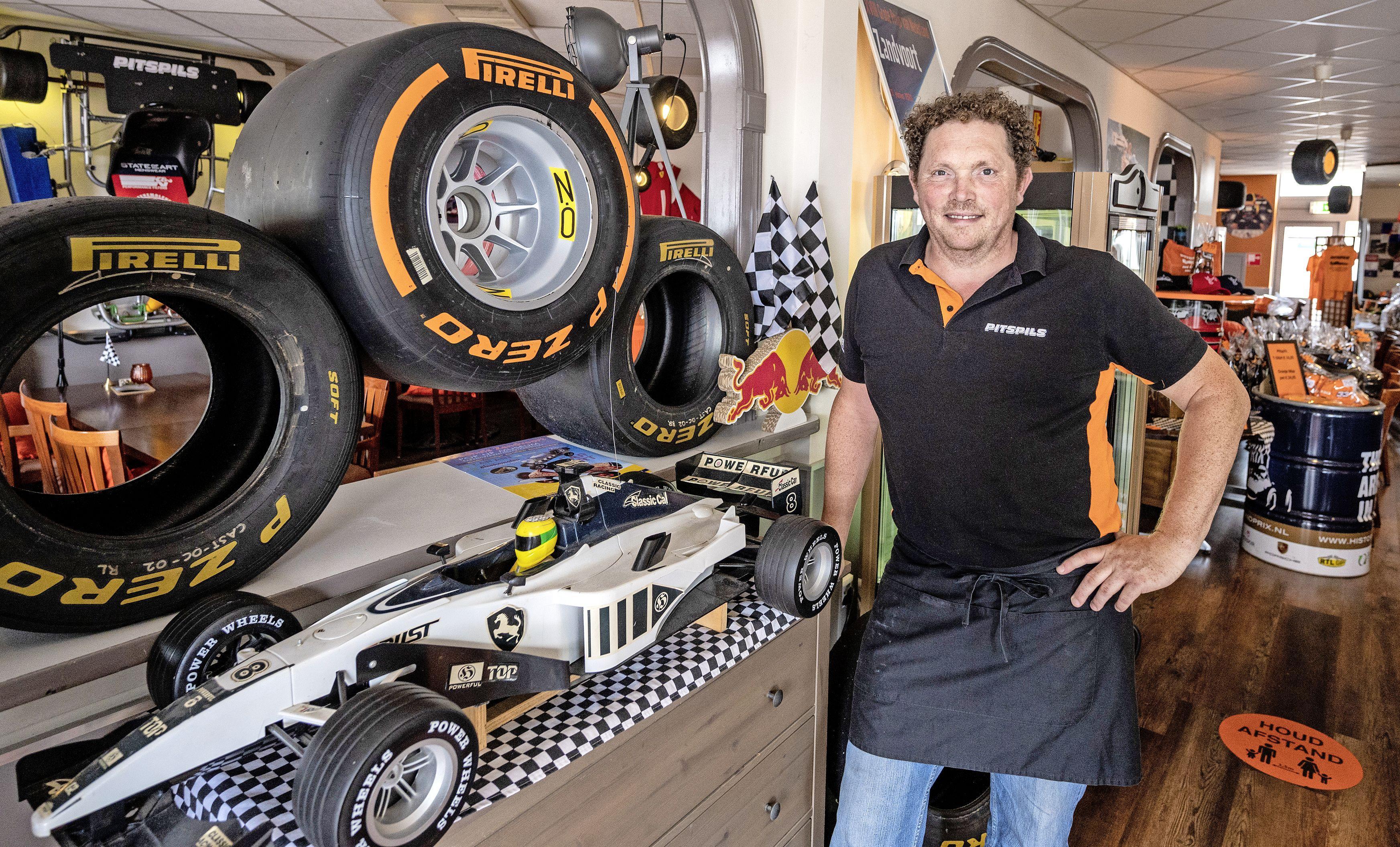 'Raceroom' Rabbel is klaar voor Formule 1 met Pitspils en museum