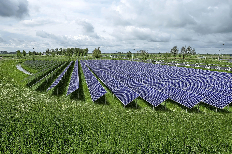 Vier zonneparken langs afslagen A7. 'Belangrijk dat omgeving profiteert van de opbrengst'