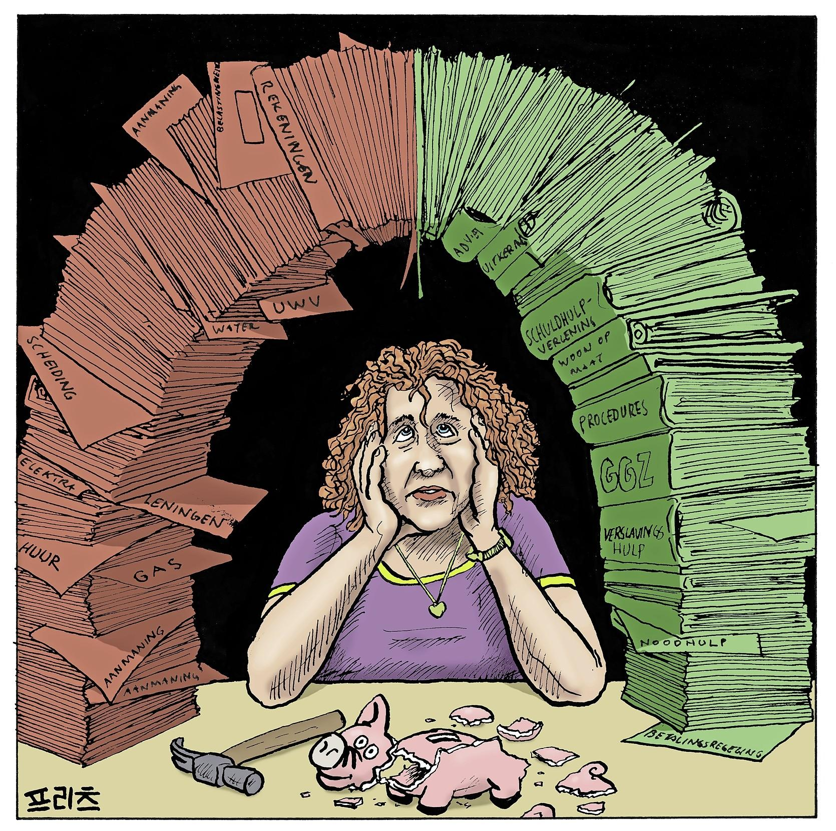 Woonopmaat ziet betalingsregelingen sterk oplopen: 'Dat gebeurt als huurders door hun buffers heen raken en er geen potjes van de overheid meer zijn om hen te compenseren'