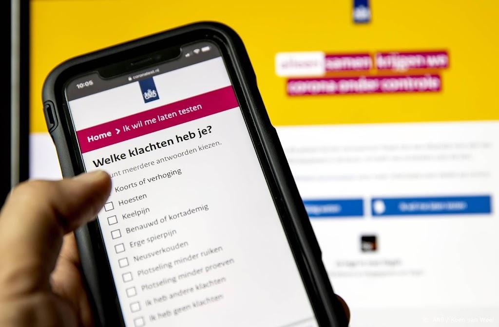 Website coronatest.nl weer in de lucht na storing