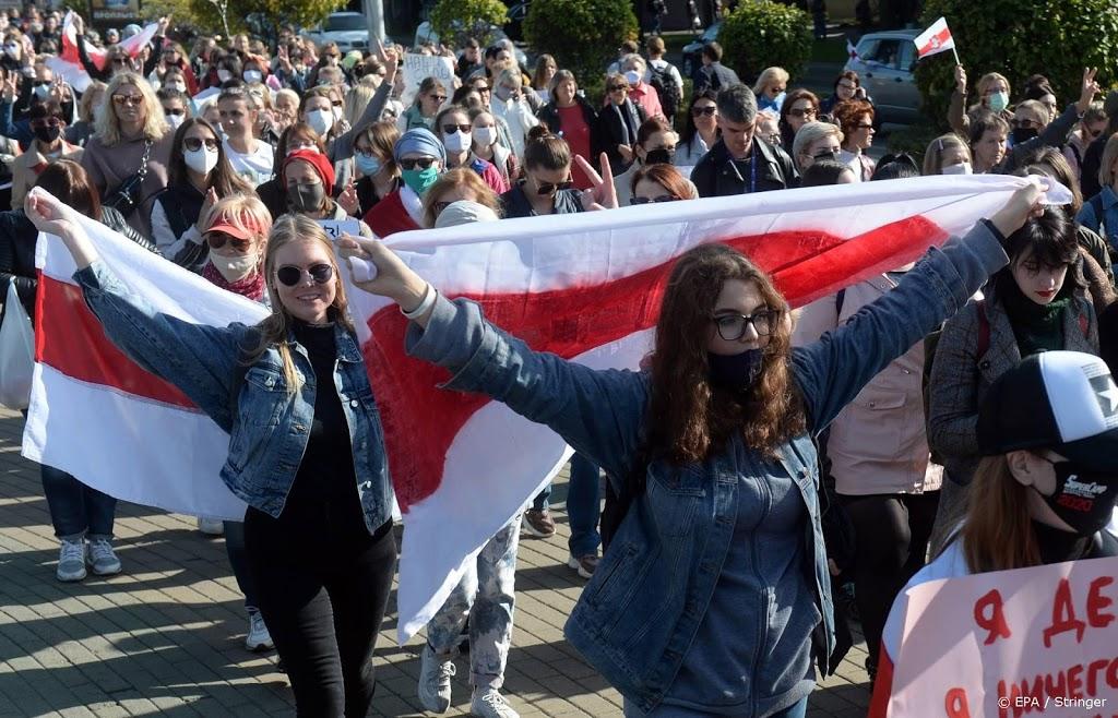 Opnieuw tientallen betogers opgepakt in Minsk