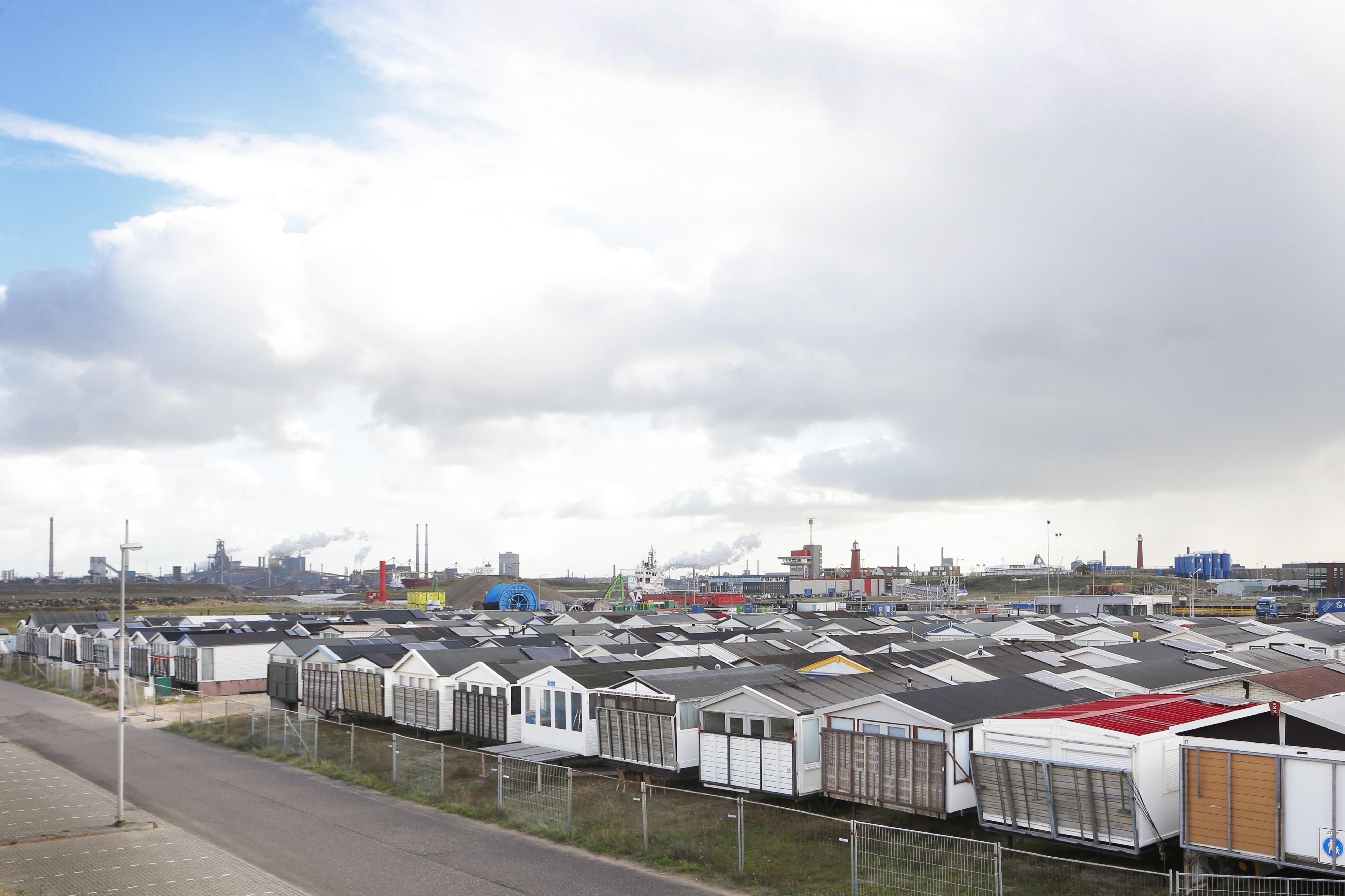 Strandhuisjes mogen worden opgebouwd tussen Heemskerk en Zandvoort. Alleen huisjes met vaste sanitaire voorzieningen mogen worden gebruikt