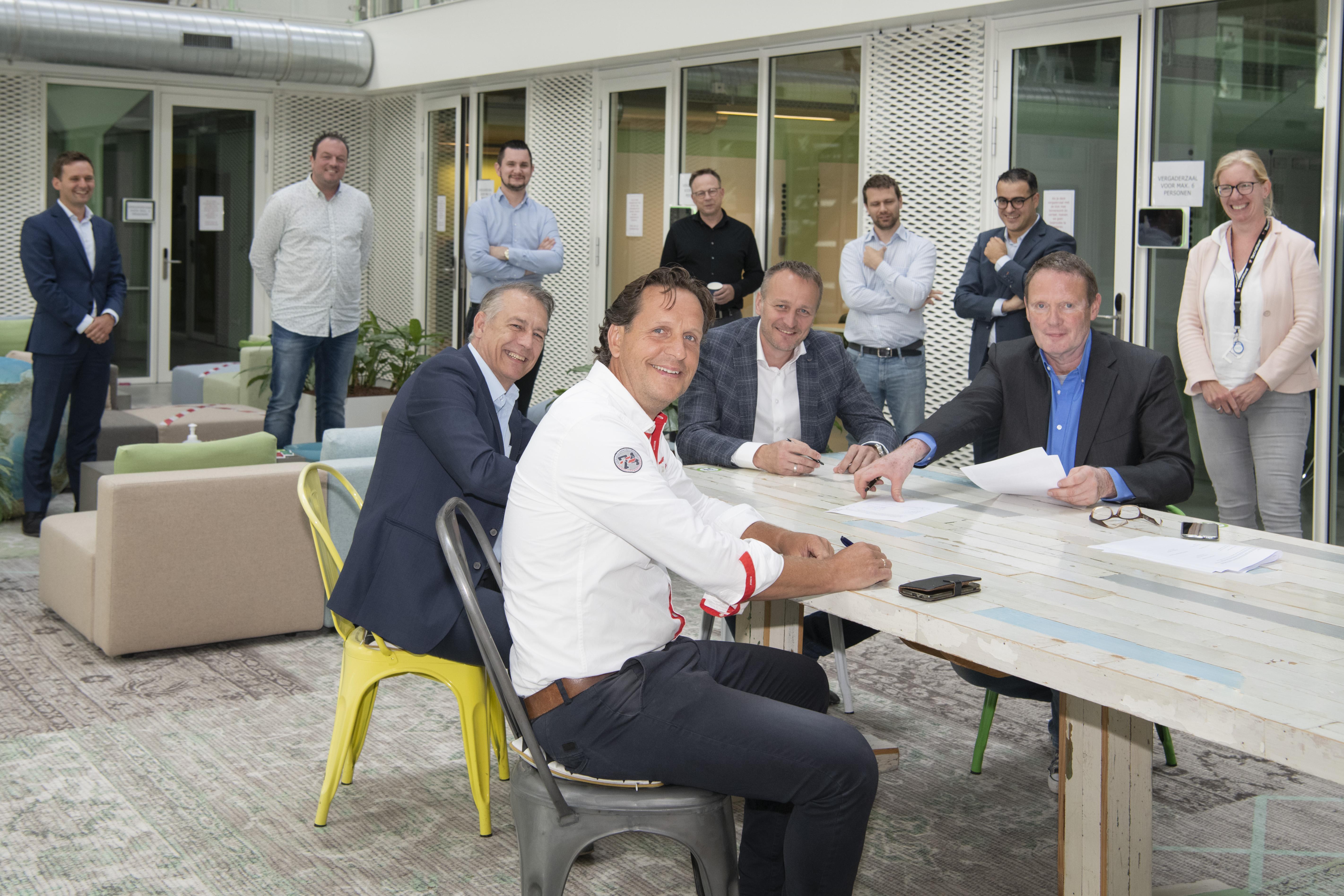 Dudok Wonen sluit deal met drie uitverkoren 'huisaannemers'; 'Onderhoud sneller en efficiënter uitgevoerd'