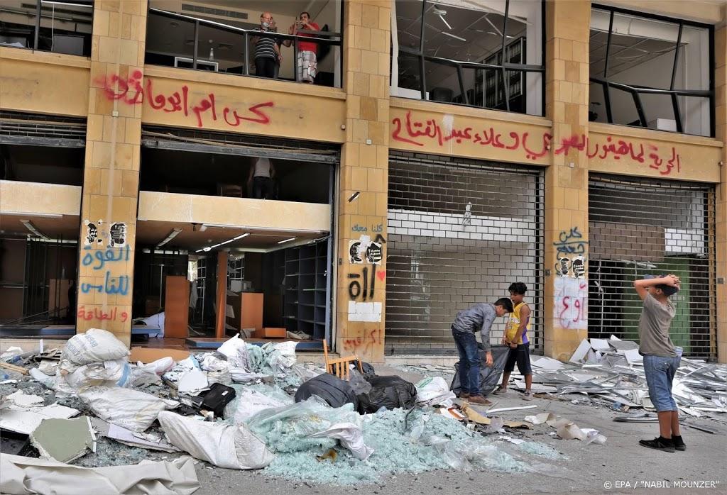 Nog tientallen vermisten na mega-explosie Beiroet