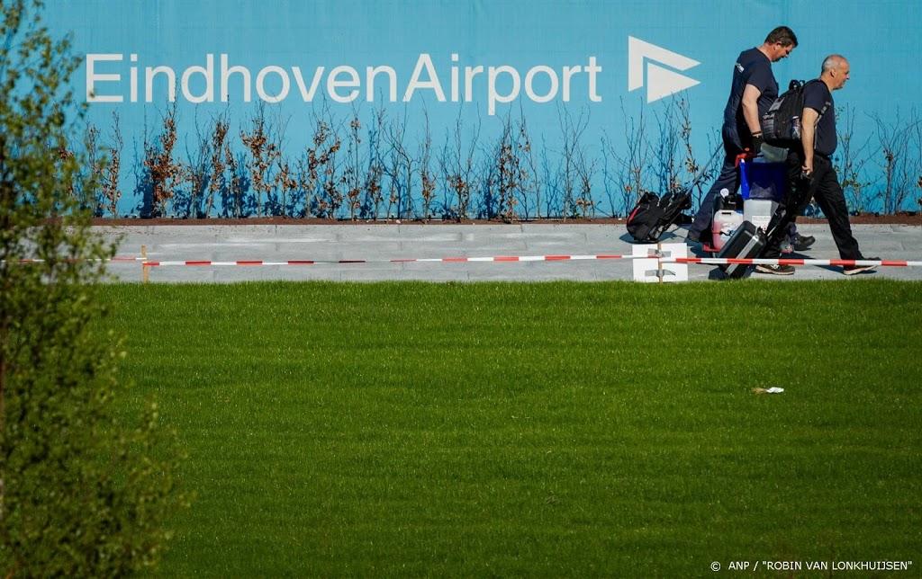 Verviervoudiging passagiers met corona op Eindhoven Airport