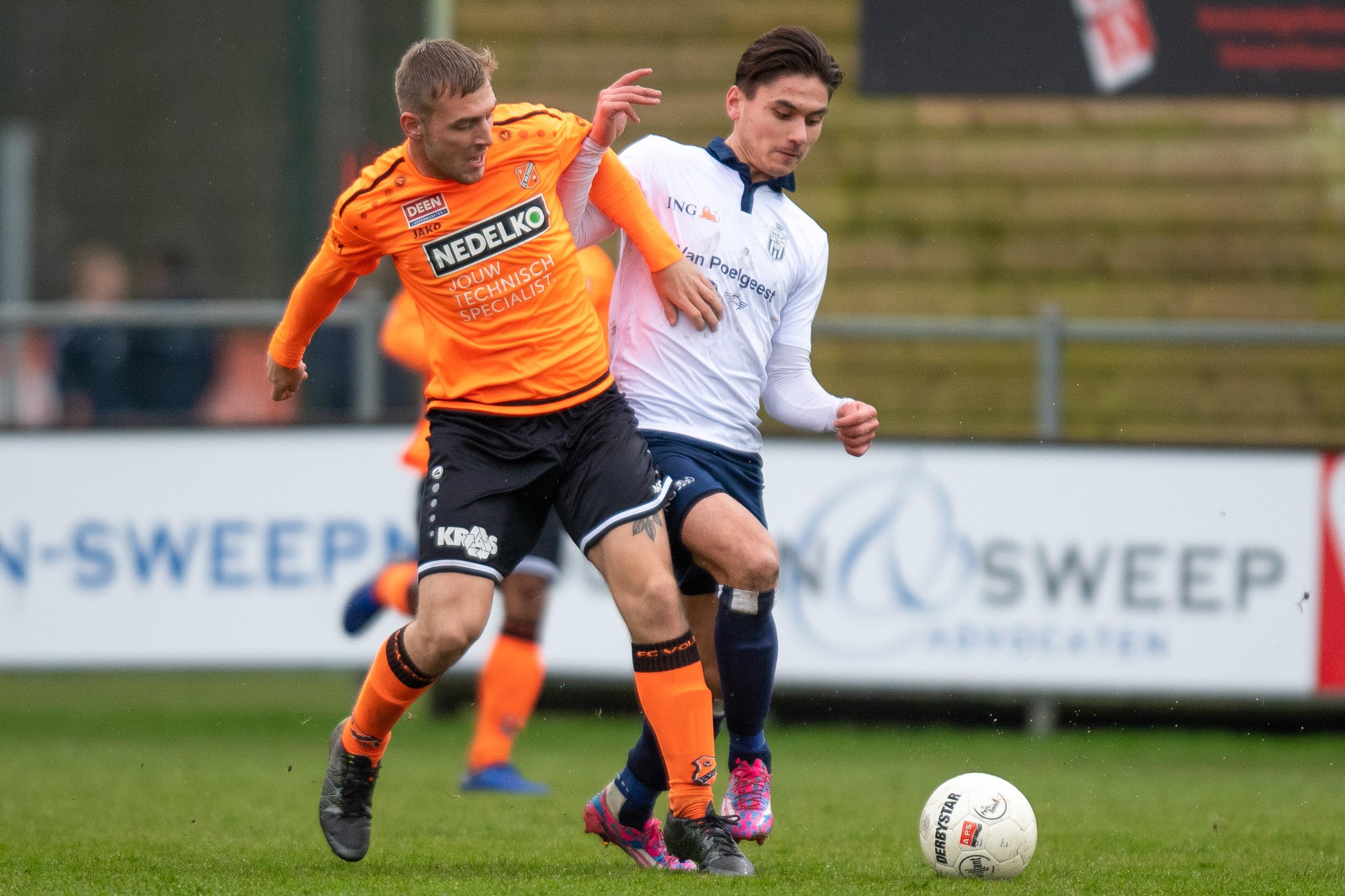 Kevin van Gasteren (21) was na tien jaar FC Volendam in gedachten al klaar als prof en gaat verder als amateur bij Koninklijke HFC