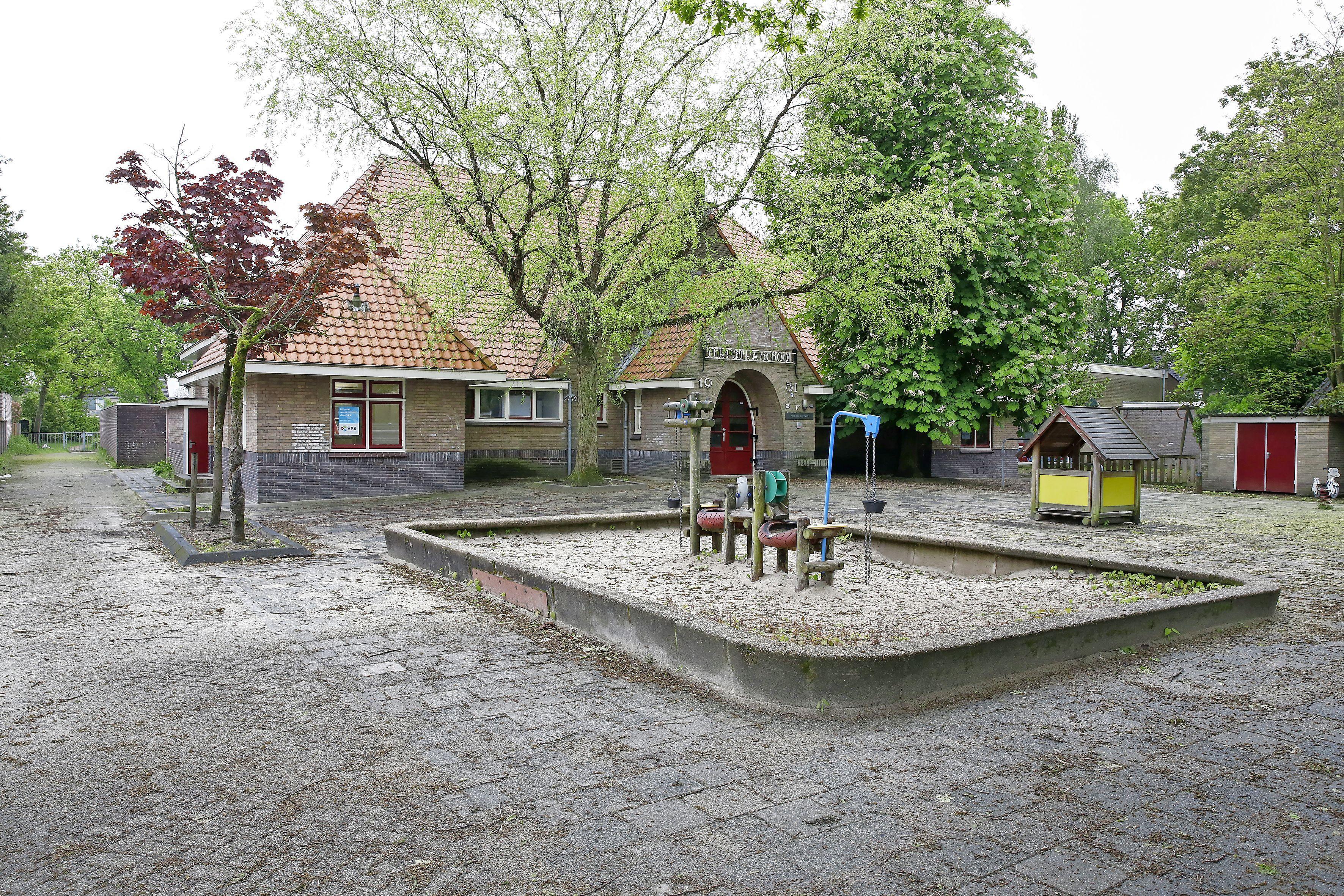 Vragen rond leegstaande Terpstraschool in Loosdrecht: antikraak of scholieren