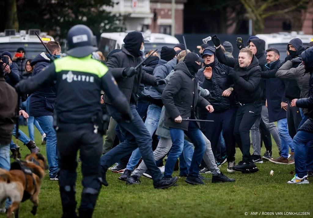 Nog 27 personen vast na demonstratie op Museumplein
