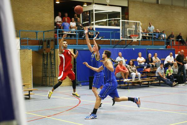 Basketballer Robinson vertrekt uit Soest: 'Wellicht straks tégen Red Stars'