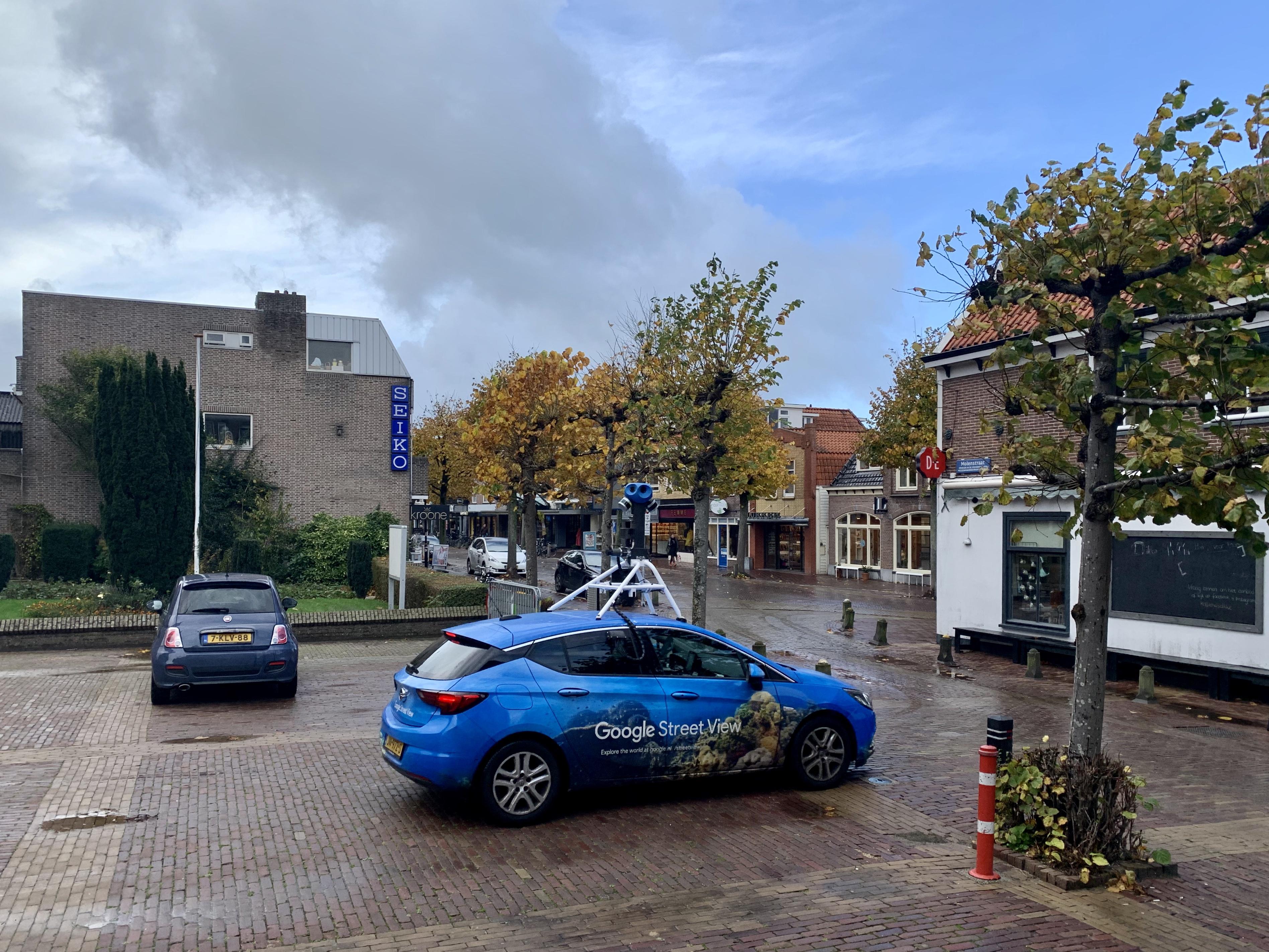 Google doet z'n ronde in de Noordkop met camera-auto voor verse Streetview-beelden