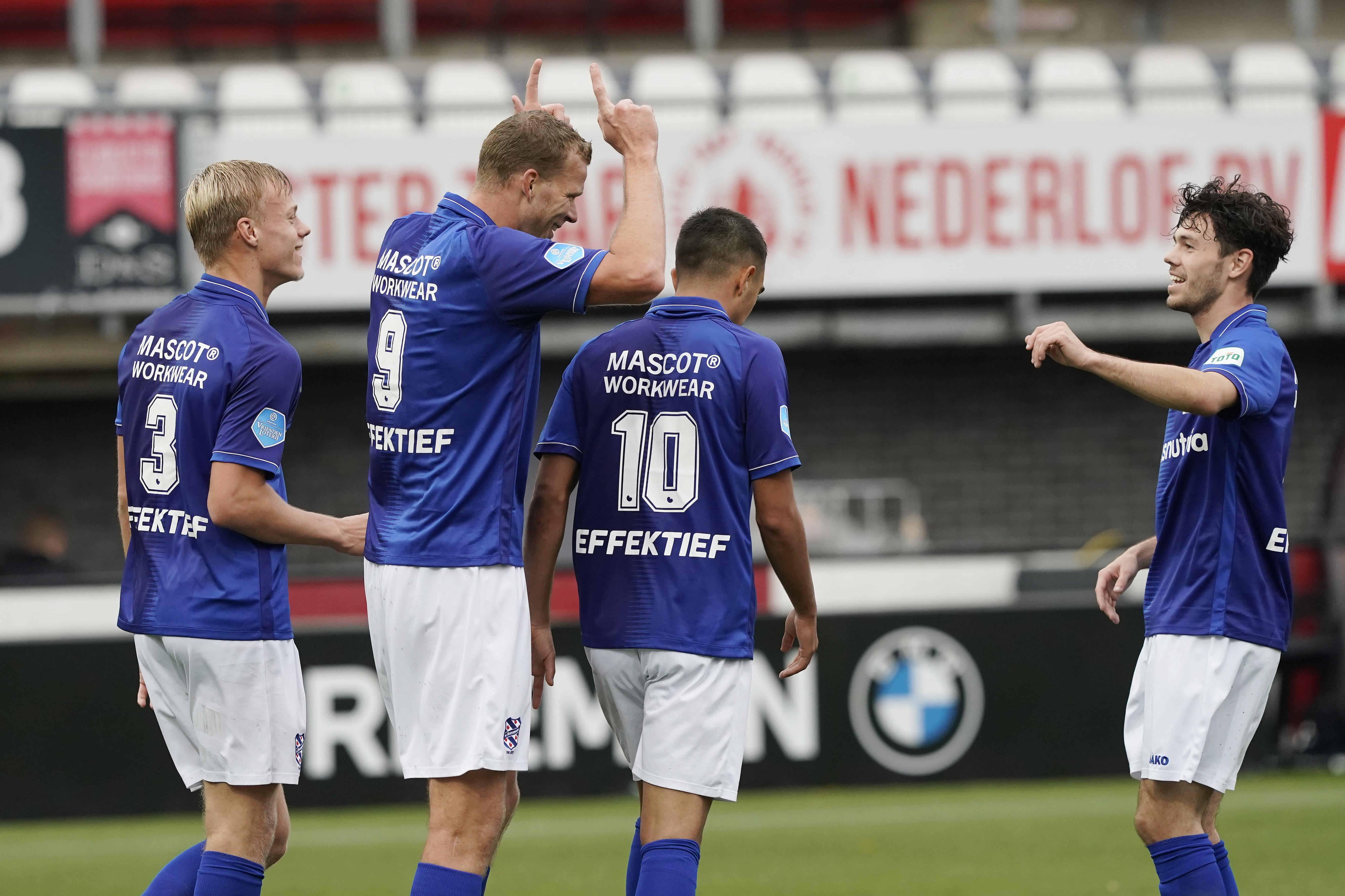 Volendammer nu topscorer van de eredivisie: Henk Veerman is naar eigen zeggen wel 'lekker bezig'