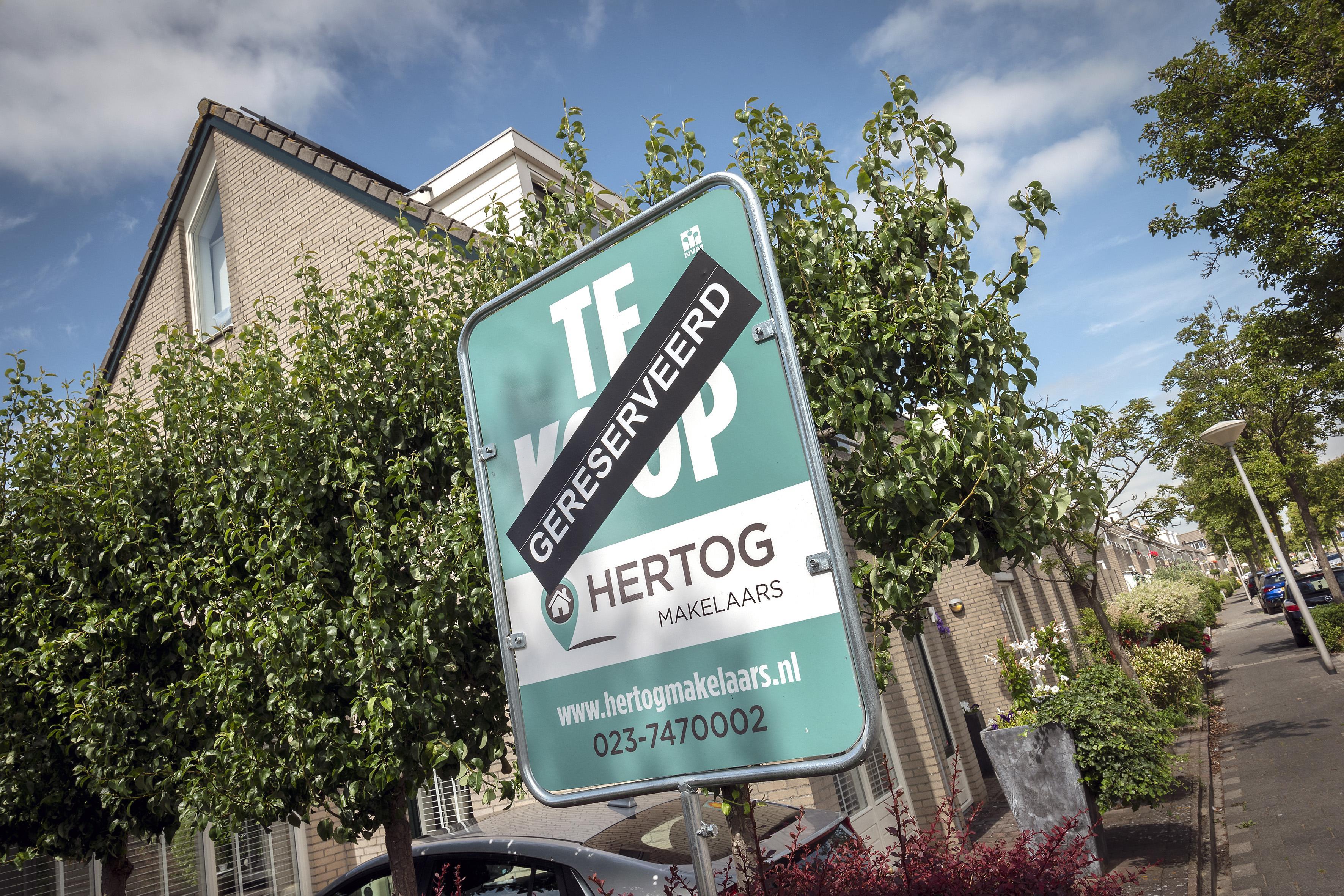 Koophuis in Zuid-Kennemerland in een jaar tijd 27.000 euro duurder