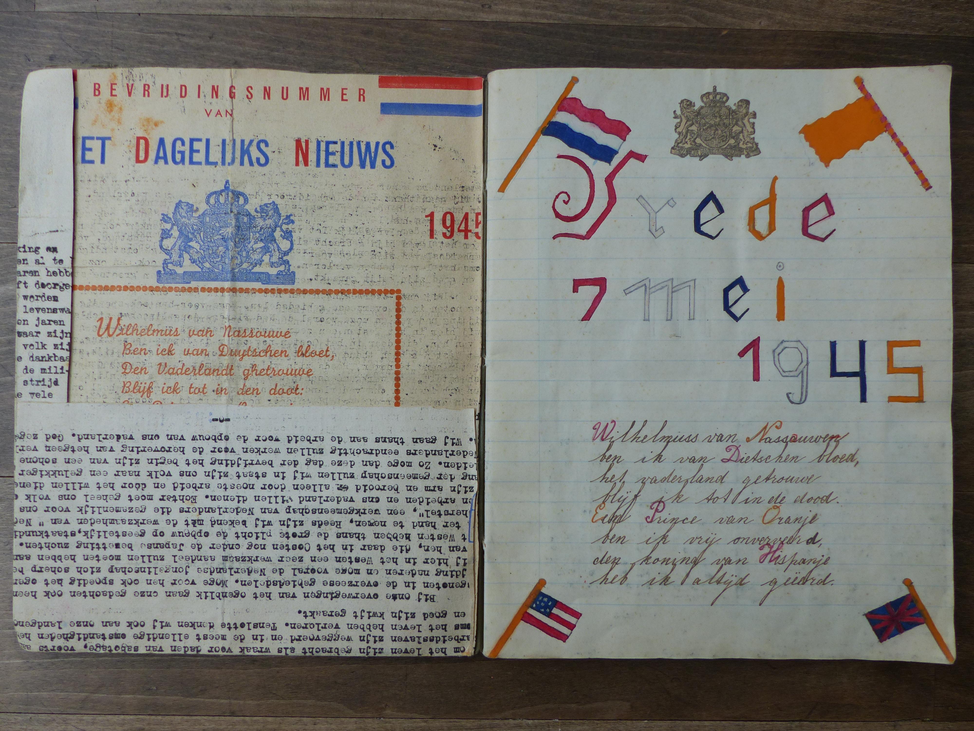 Oorlogsspullen: Rietje sprak nooit over de bevrijding, maar haar zoon vond een schrift vol herinneringen na haar overlijden