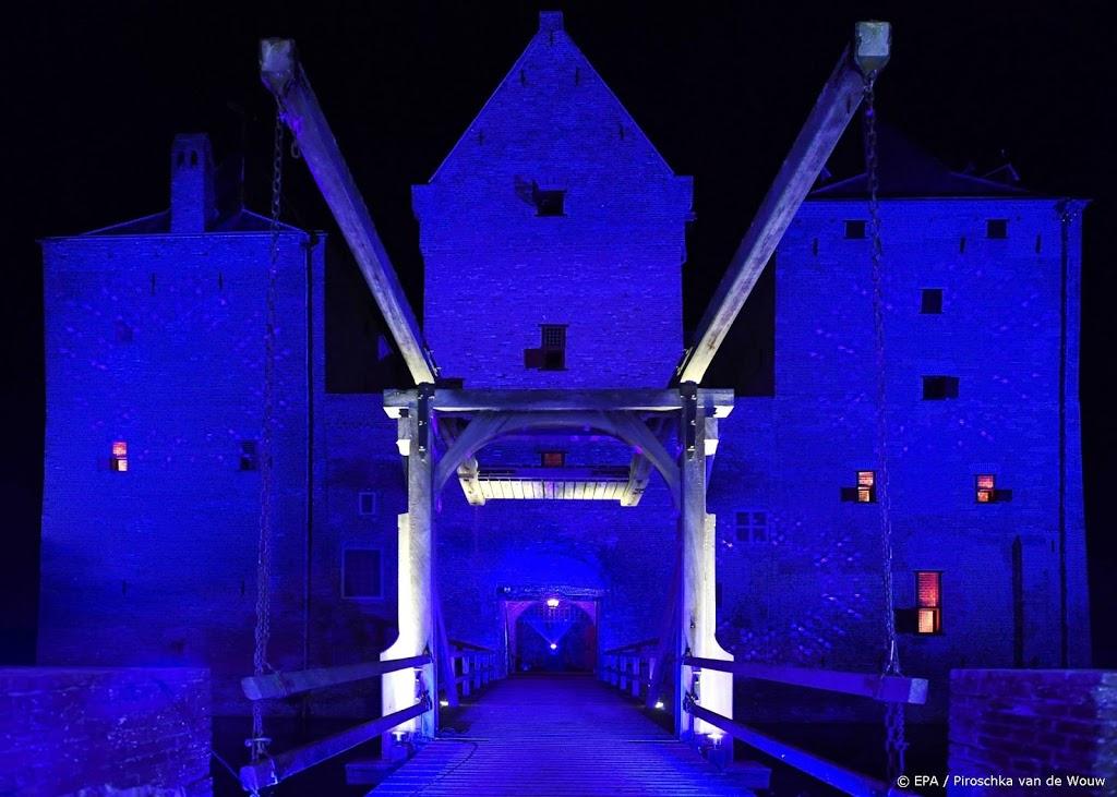 75 jaar VN: in heel Nederland kleuren gebouwen blauw