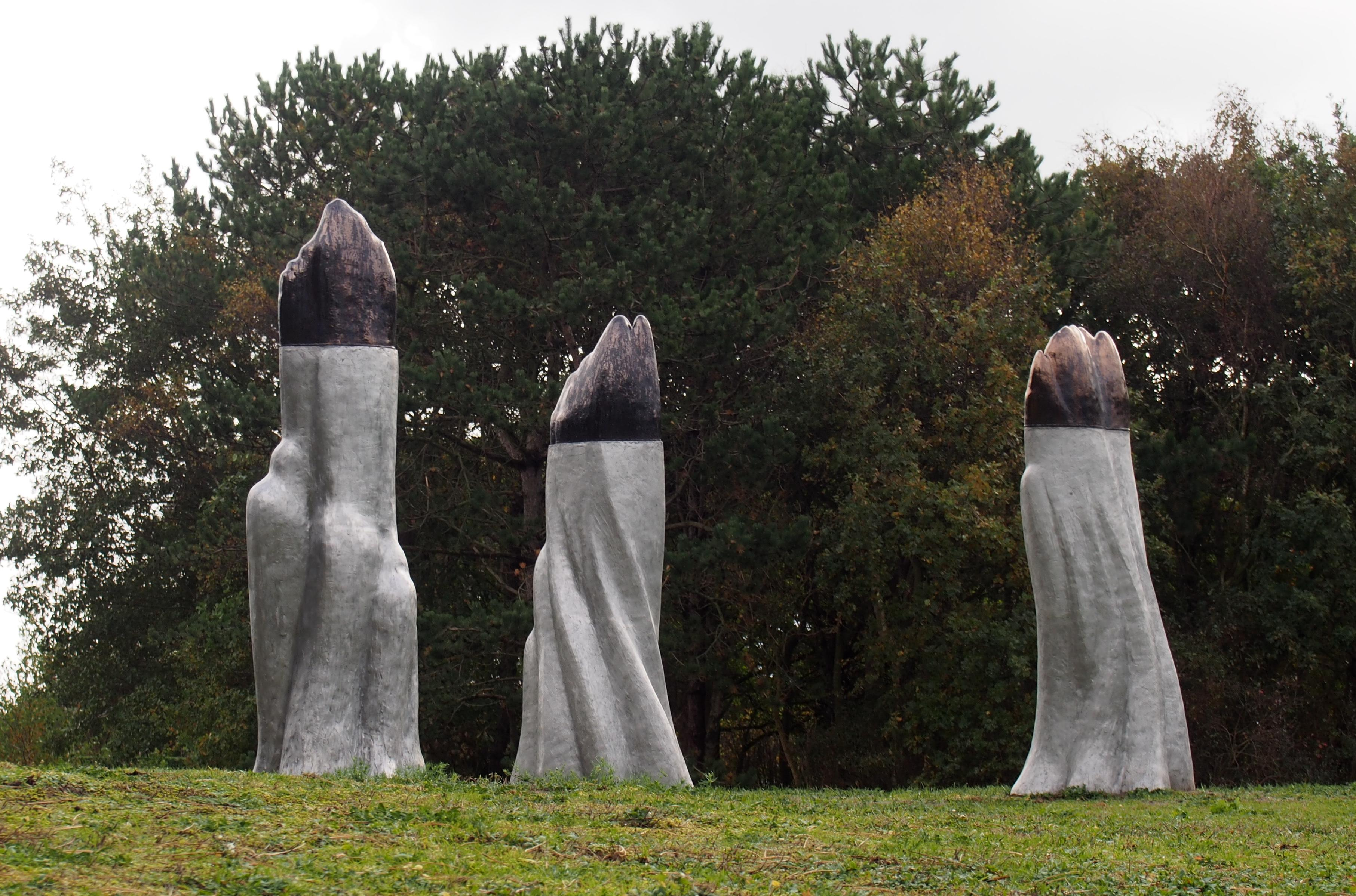 Beelden en abstracte kunst te zien bij Expo Koel 310