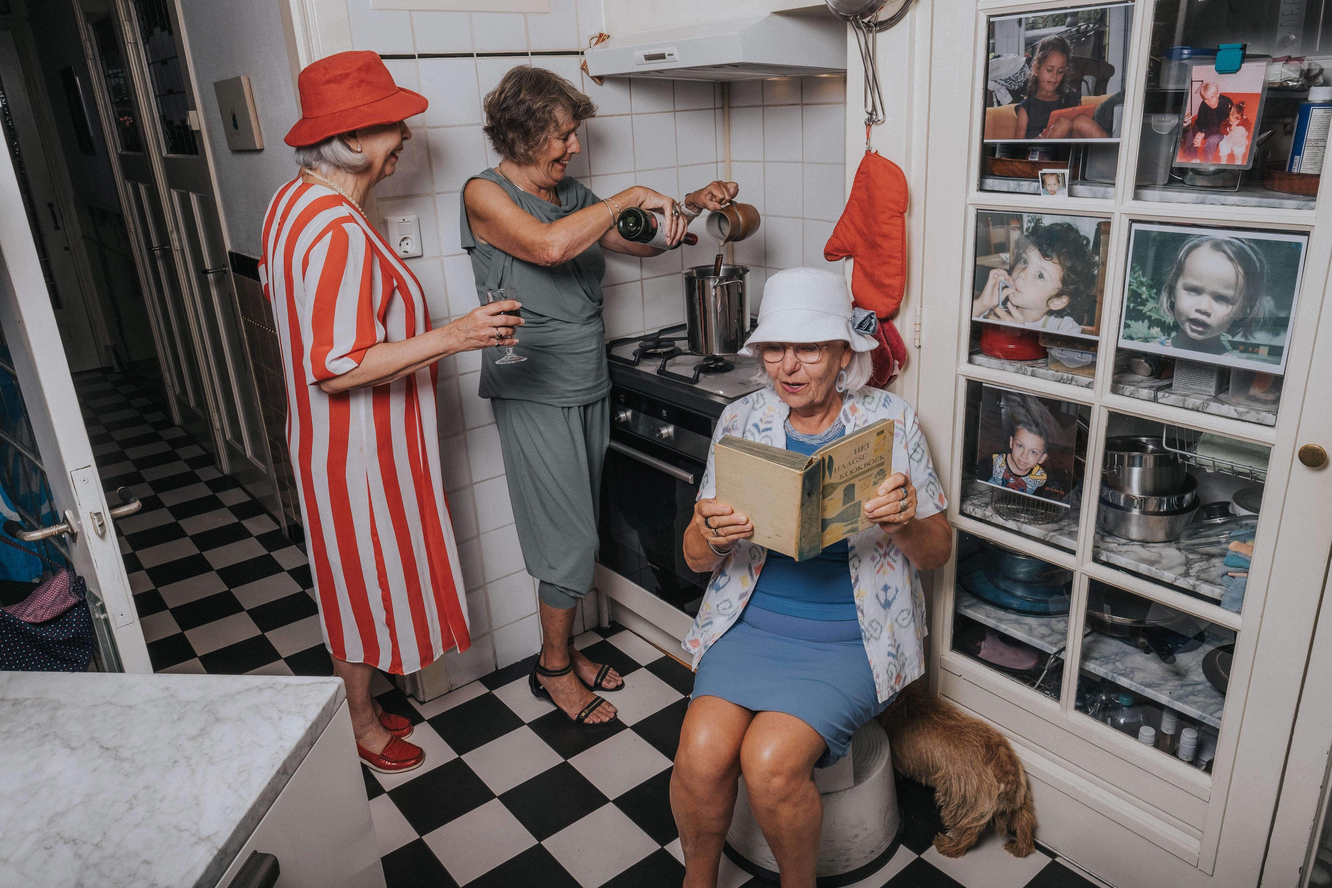 BUUV Haarlem bestaat tien jaar en viert dat met een fotoserie bij Hart