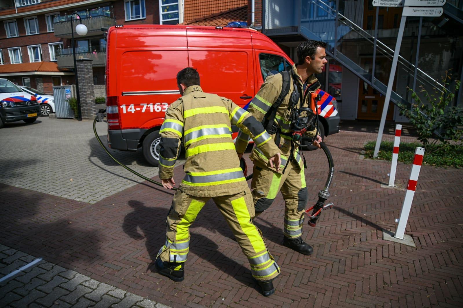 Wasdroger vat vlam en zorgt voor brand bij woonzorgcentrum in Hilversum