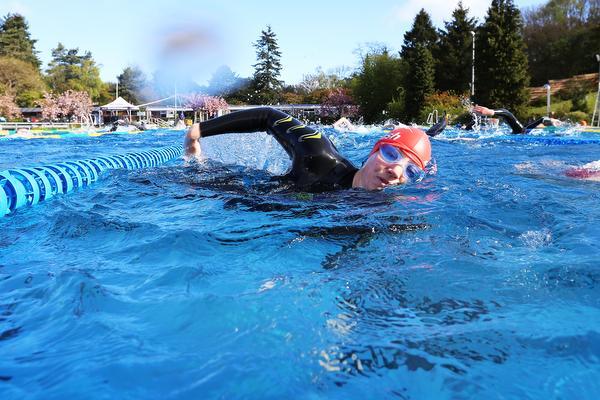 100 x 100: zwemmen wordt na een poos 'ploegen'