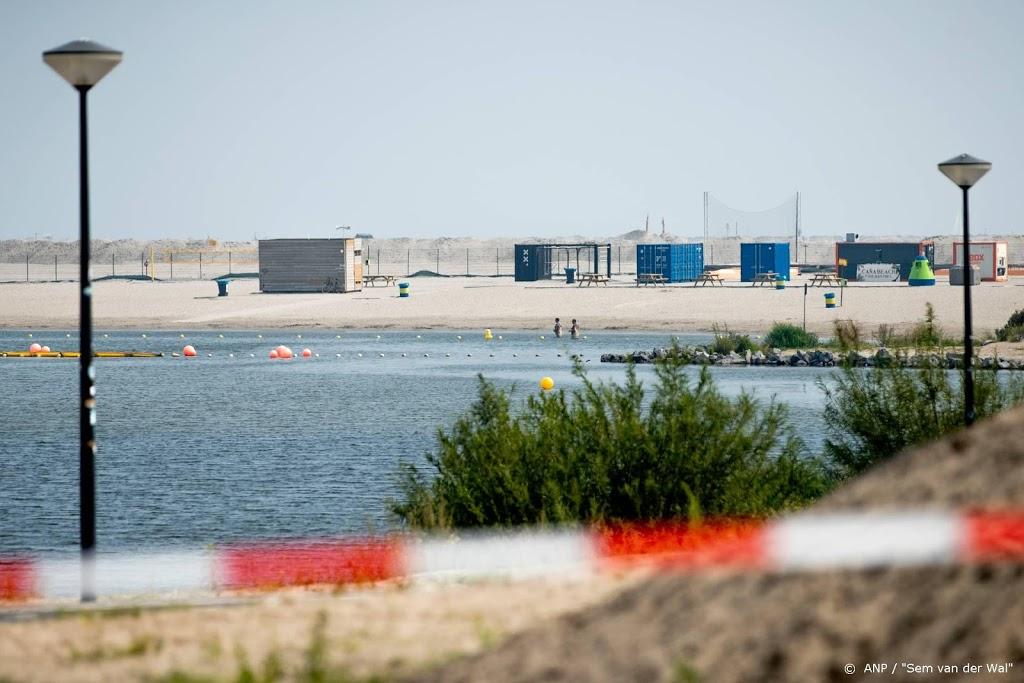 Strand IJburg weer open, met extra veiligheidsmaatregelen
