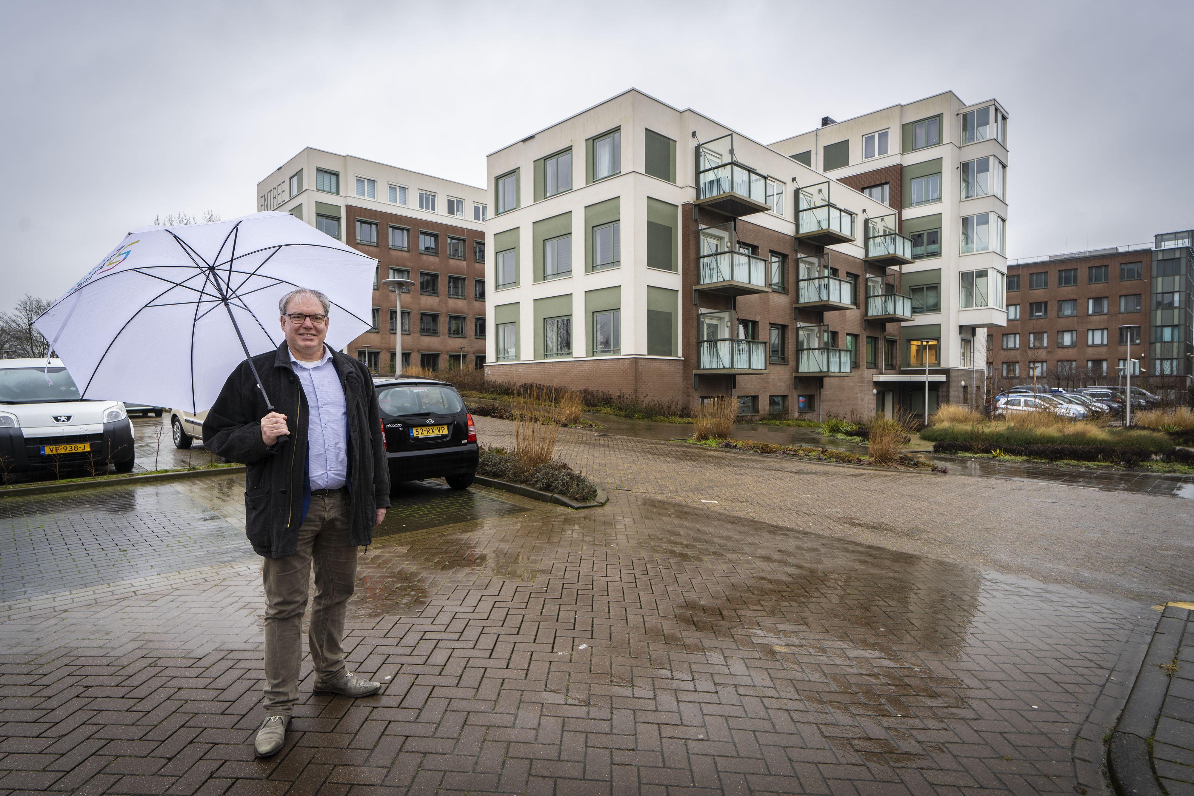 Rijnhart-directeur Chrétien Mommers wil in tien jaar duizend huizen bouwen in Leiderdorp