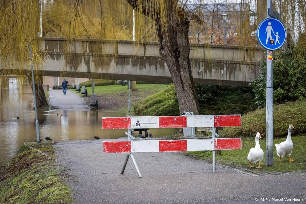 Rijkswaterstaat verwacht donderdagavond zeer hoge stand Maas