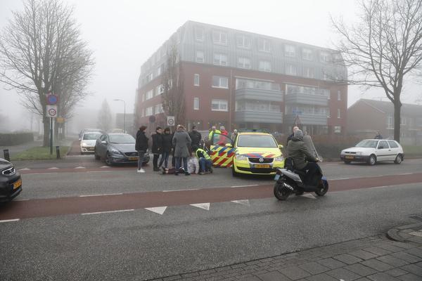 Fietser gewond na aanrijding in Bunschoten-Spakenburg