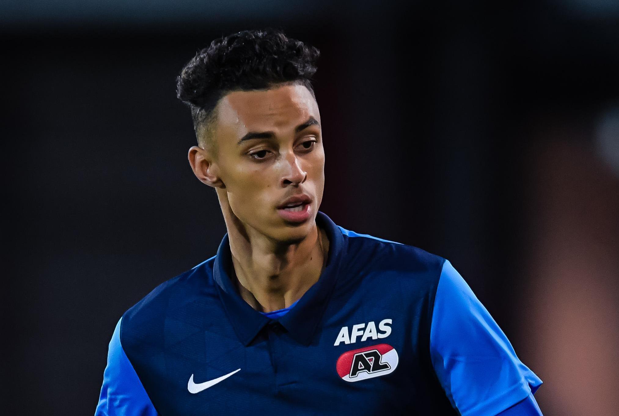 Millen Baars laat zijn droom bij Manchester United schieten om via Jong AZ zoveel mogelijk ervaring op te doen in 'grote-mannen-voetbal'