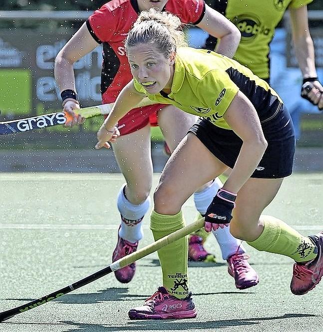 Hockeyster Ylene Sijnesael uit Barsingerhorn: ,,Als ik vroeger 'ziek' was, mocht ik niet trainen. Was ik meteen weer beter.''
