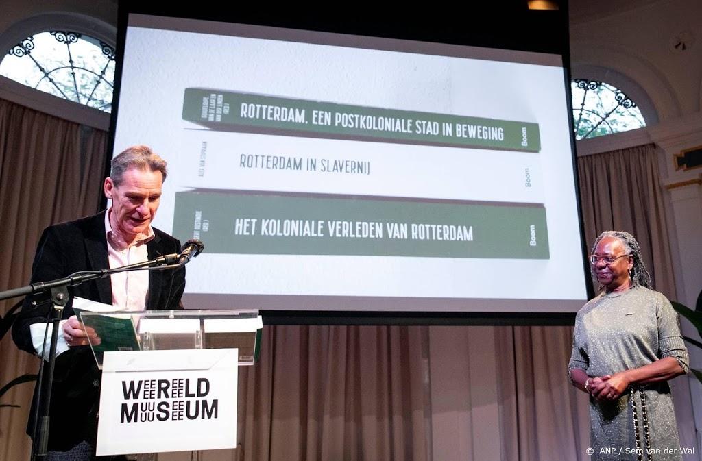 'Rotterdam zat tot over zijn oren in de slavernij'