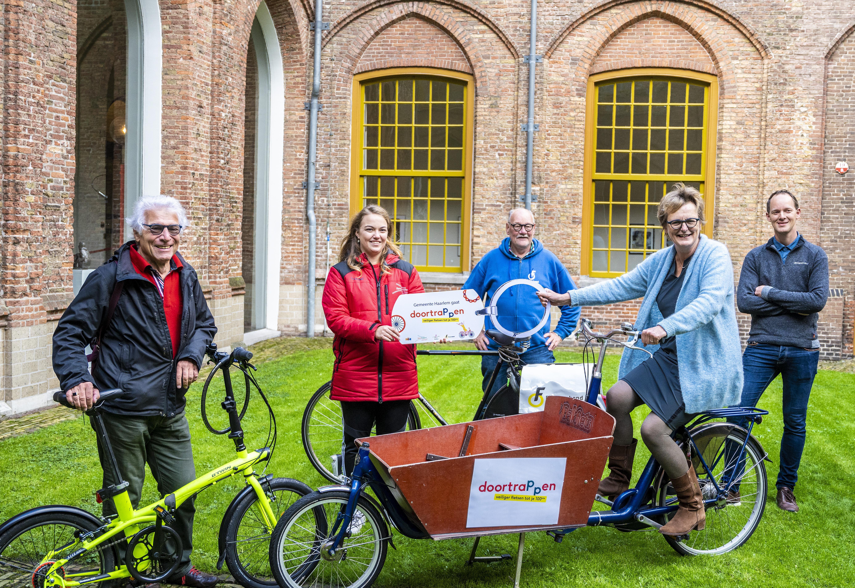 Fietsen tot je honderdste is het motto bij het Haarlemse project Doortrappen
