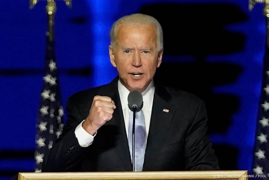 Biden wil als president 'verenigen in plaats van verdelen'