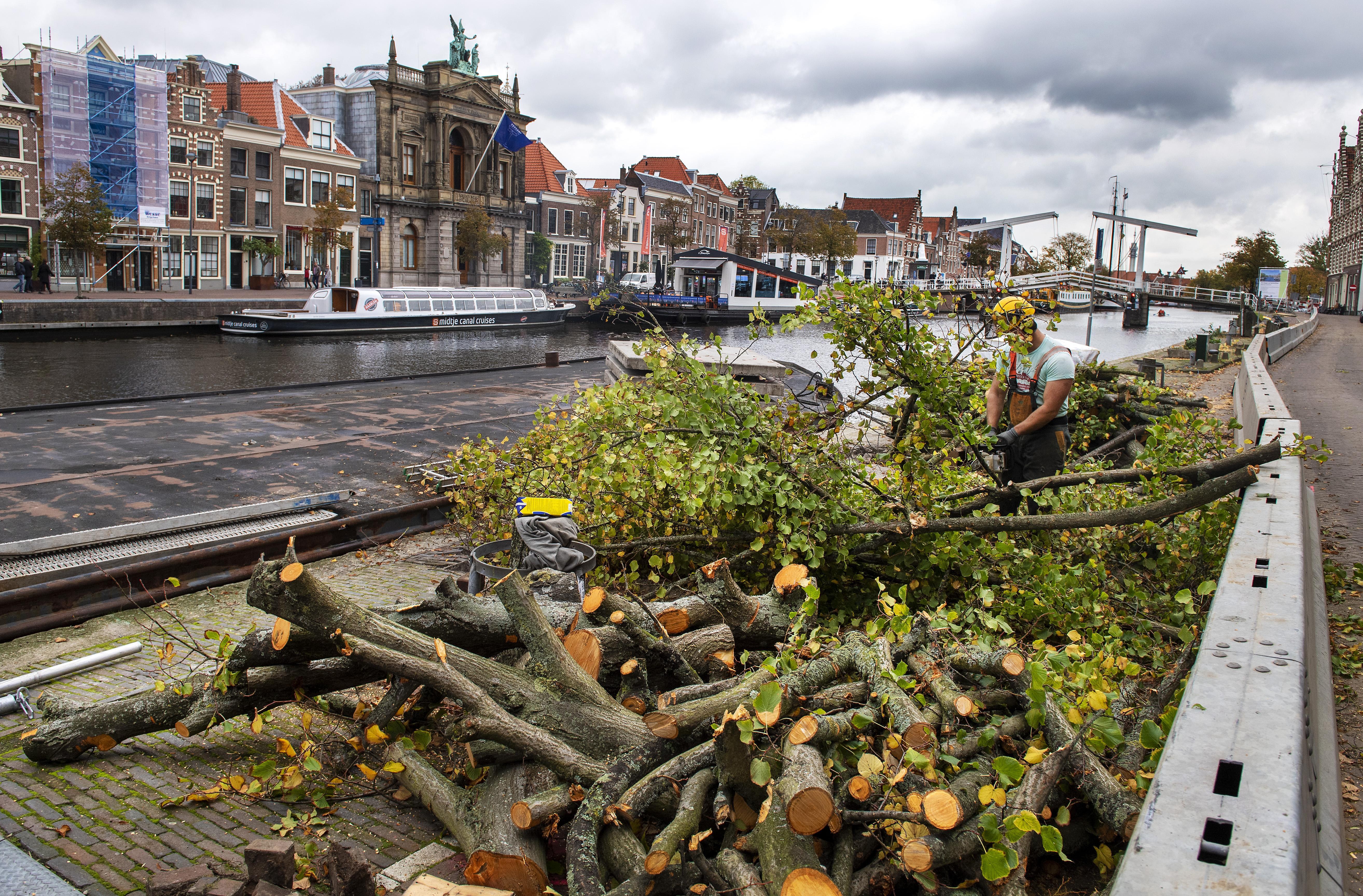 Spaarne in Haarlem dicht voor zes weken: alleen Sinterklaas mag doorvaren