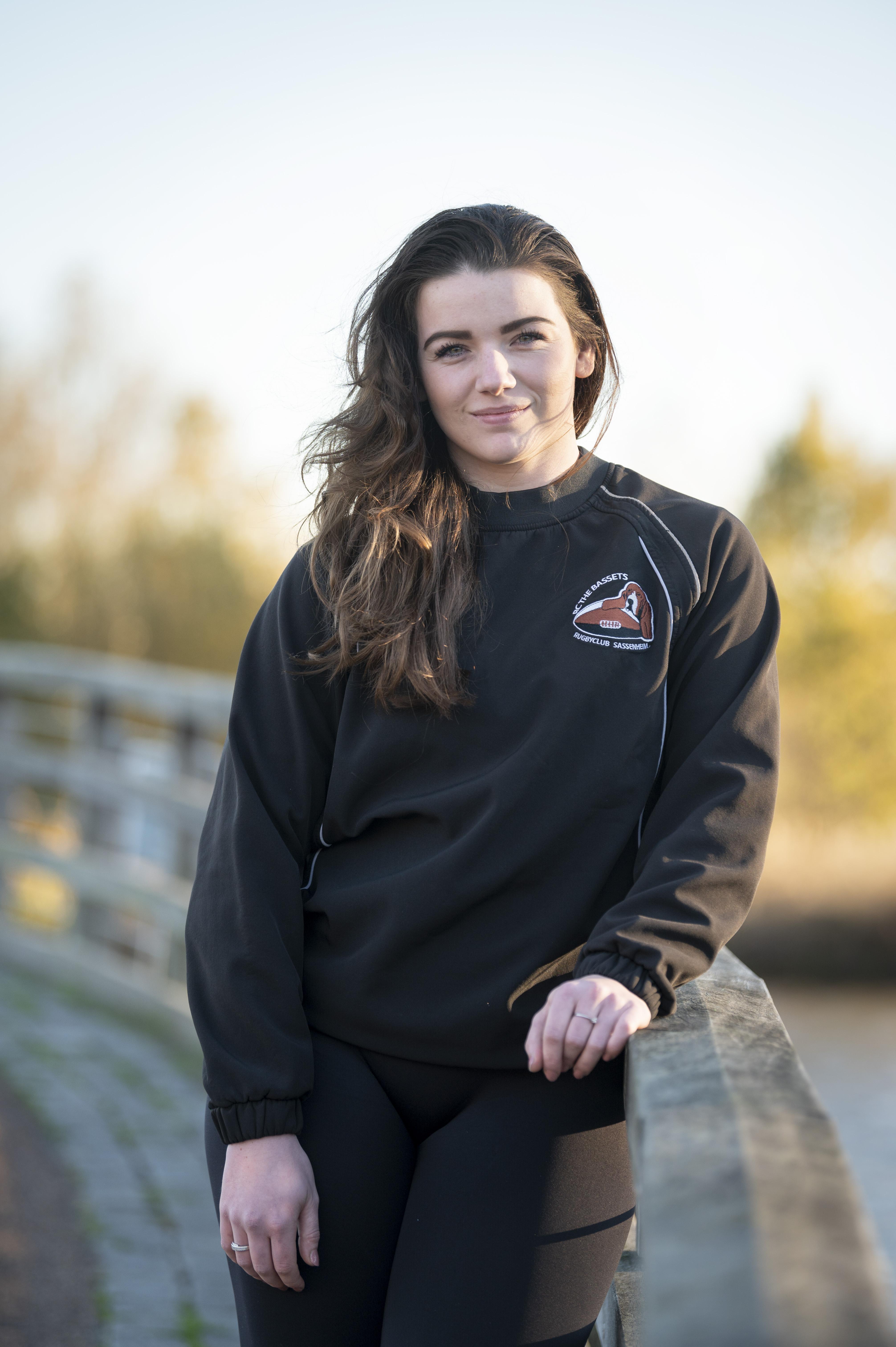 Anoushka Beukers uit Warmond: 'Mijn droom is om in het buitenland te rugbyen'