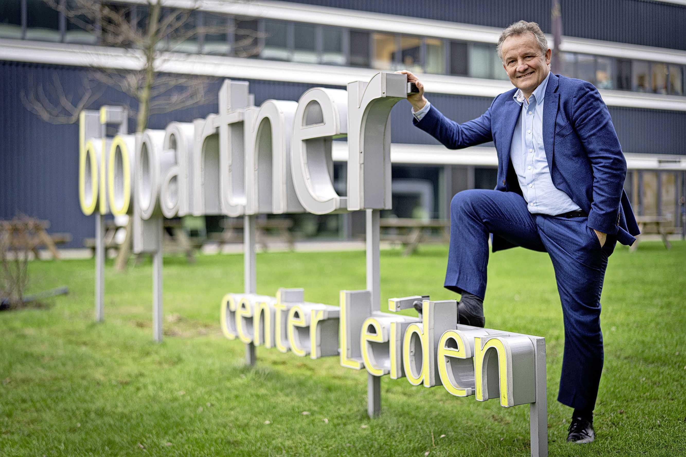 Lunchroom, auditorium, plek voor evenementen? Directeur van BioPartner Center Leiden droomt alweer aan een volgend project