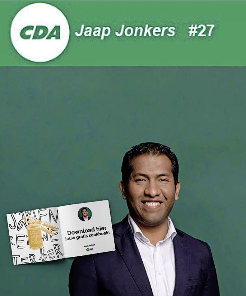 Kookboek voor klanten van Voedselbank; Initiatief van oud-Baarnaar Jaap Jonkers samen met tv-kok Pierre Wind