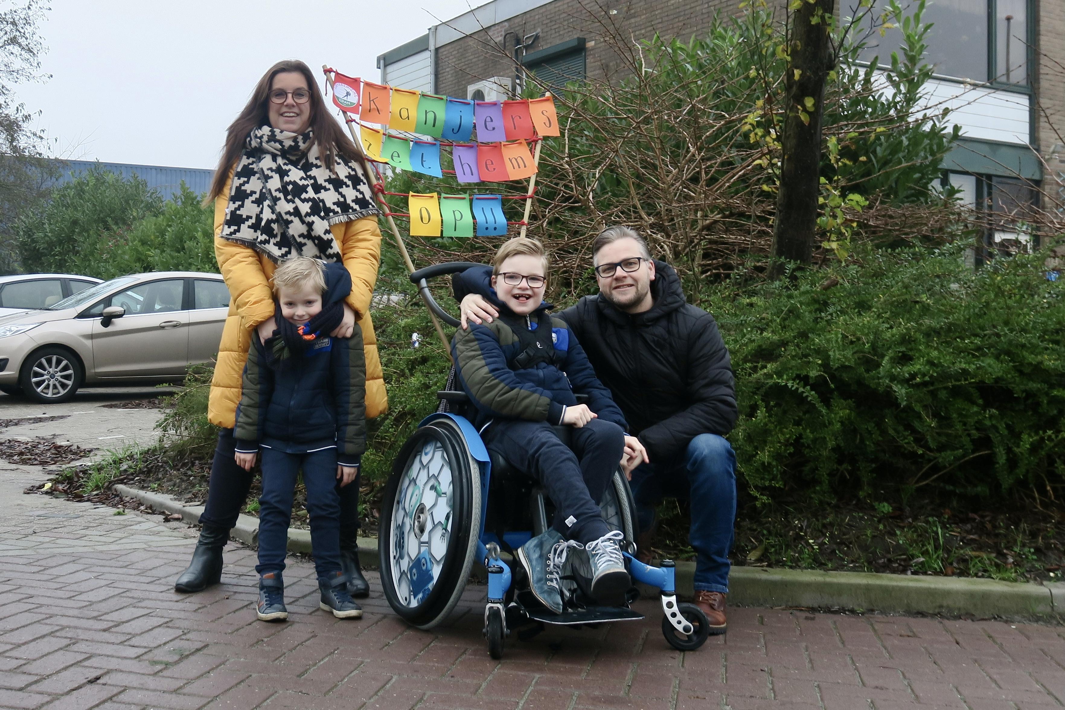Sponsoractie voor sleeën voor gehandicapte kinderen. 'Dan kunnen zij eindelijk ervaren hoe het is om ijswind langs gezicht te voelen'