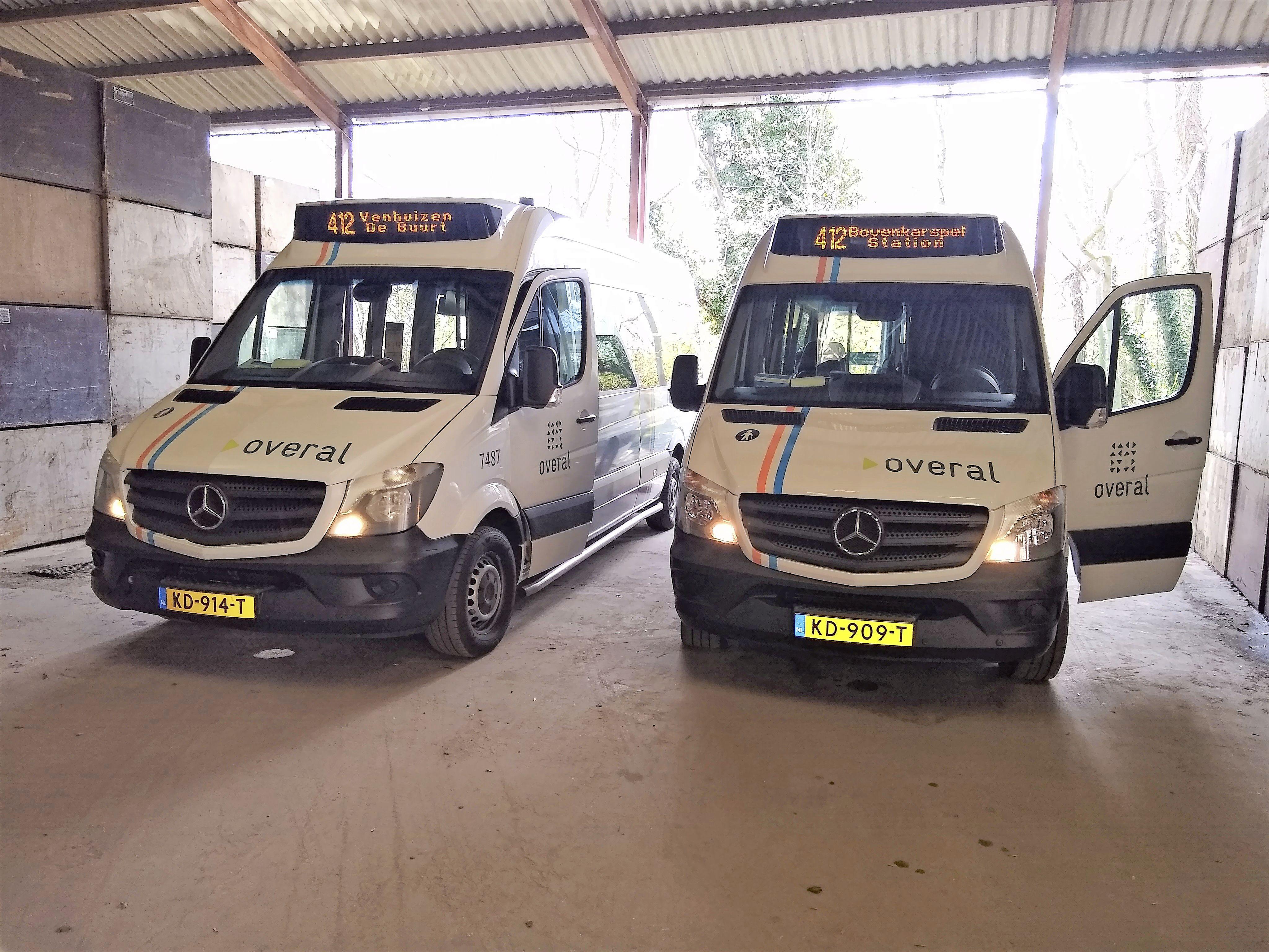 Buurtbus 412 door Venhuizen krijgt meer passagiers