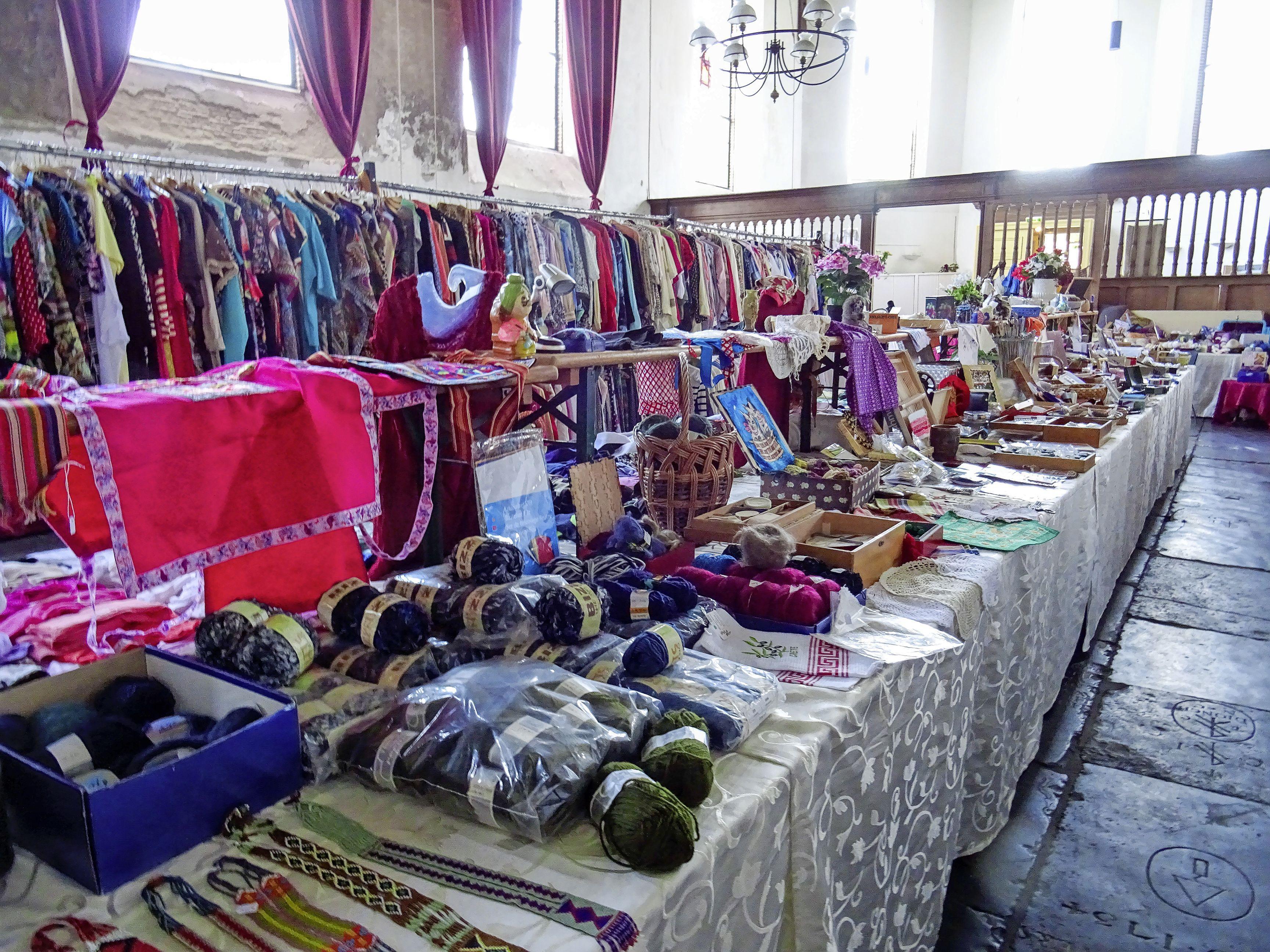 Voor het eerst na ruim een jaar wordt er weer een markt gehouden in de Bonifaciuskerk in Medemblik